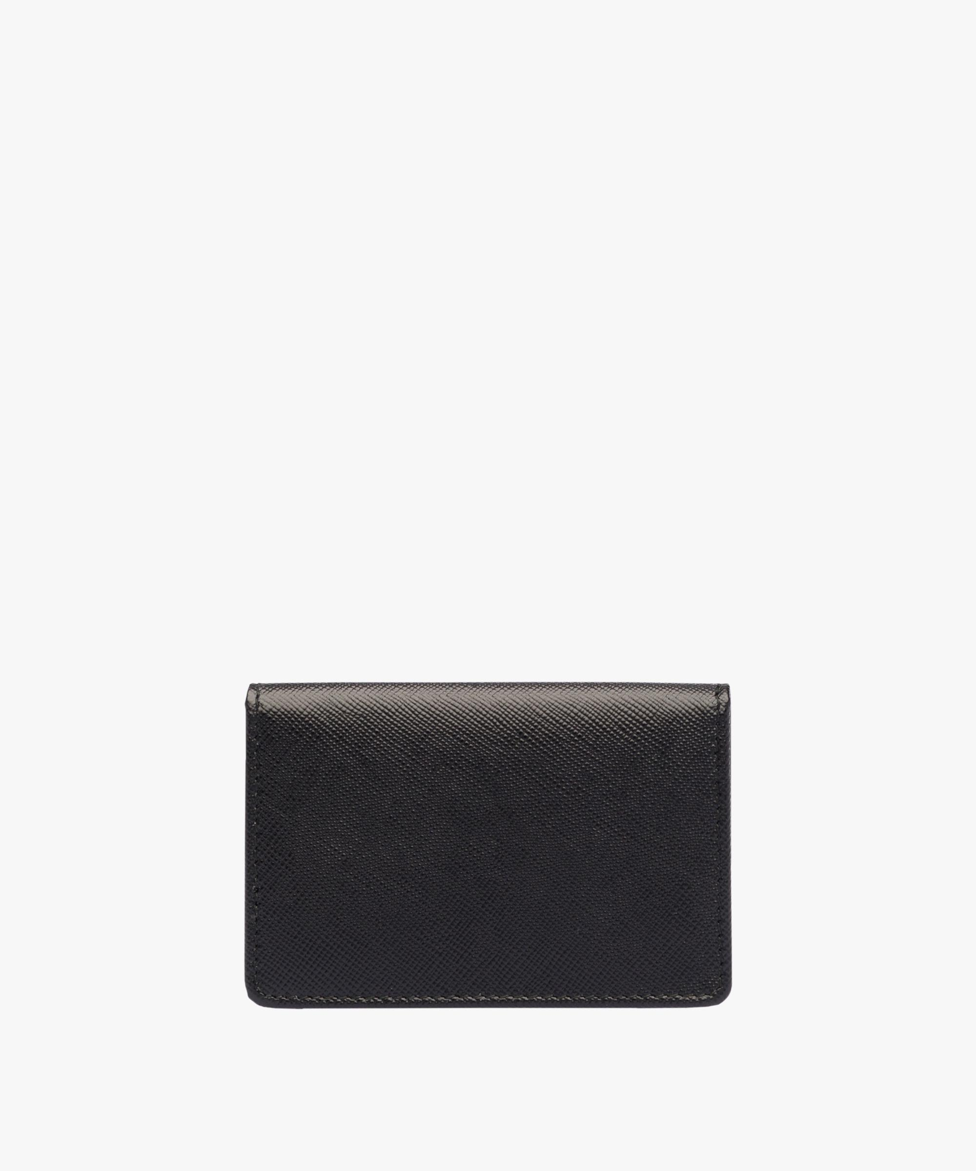 Lyst prada business card holder in black gallery colourmoves