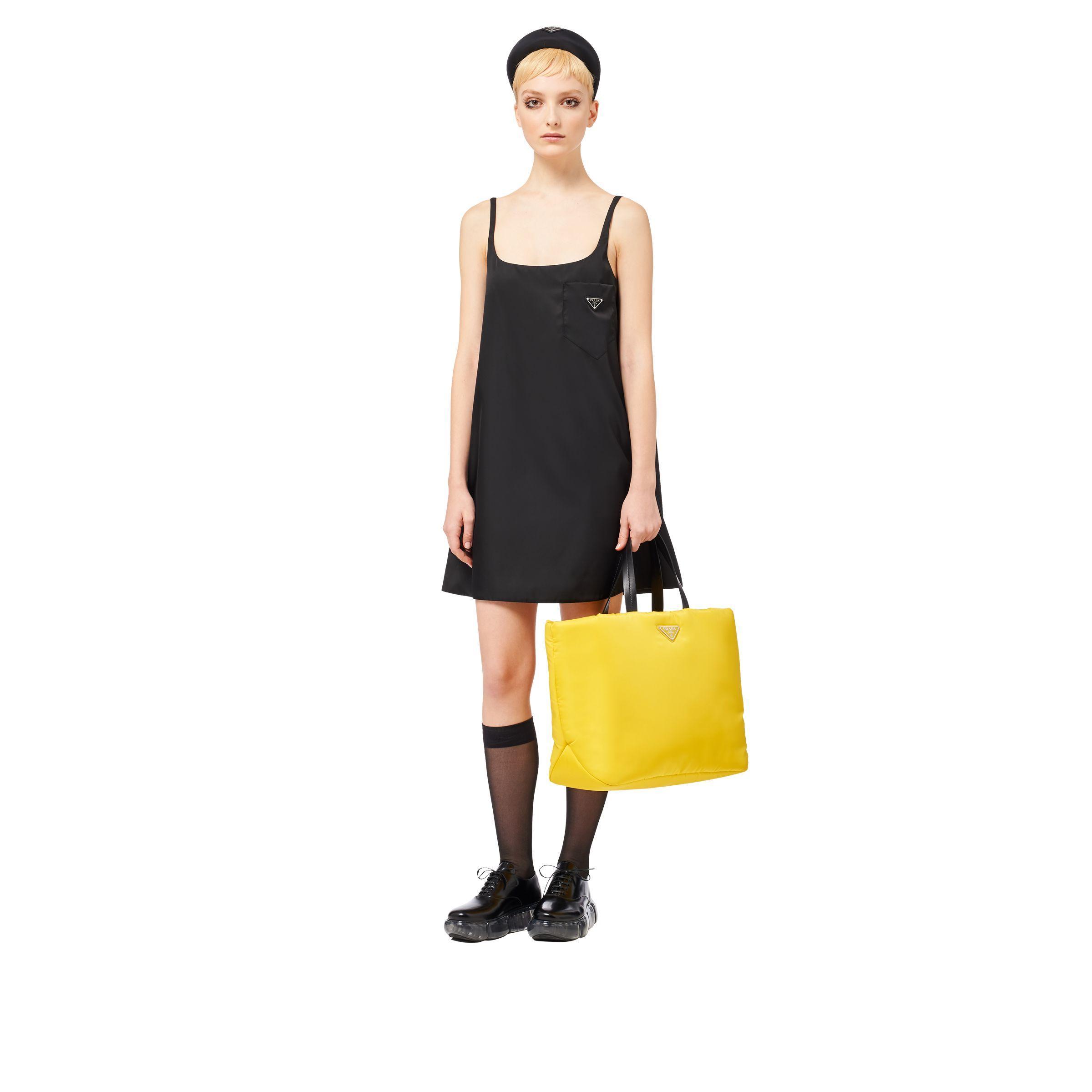 d936c4e9de Women's Yellow Medium Padded Nylon Tote