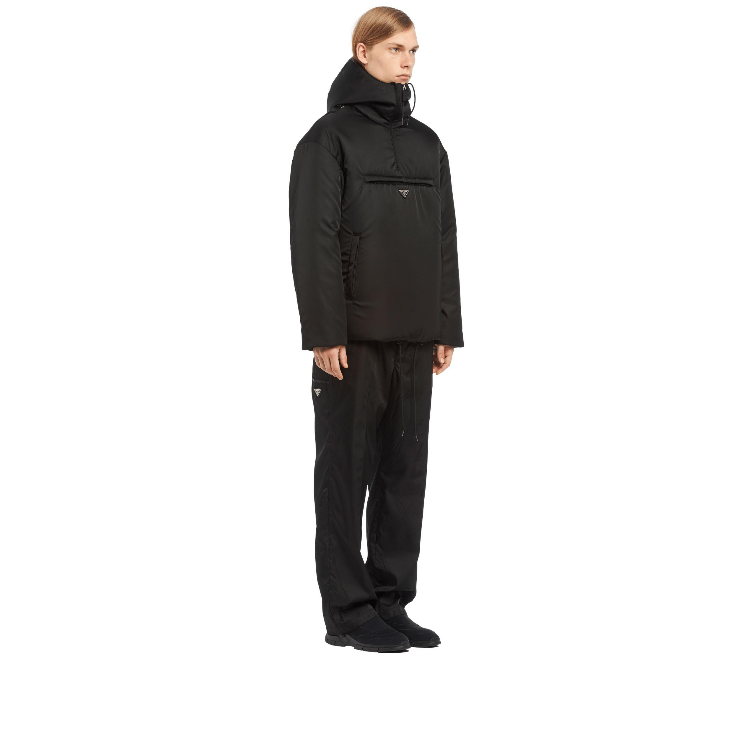 73ca1296f6 Prada Black Padded Nylon Gabardine Jacket for men