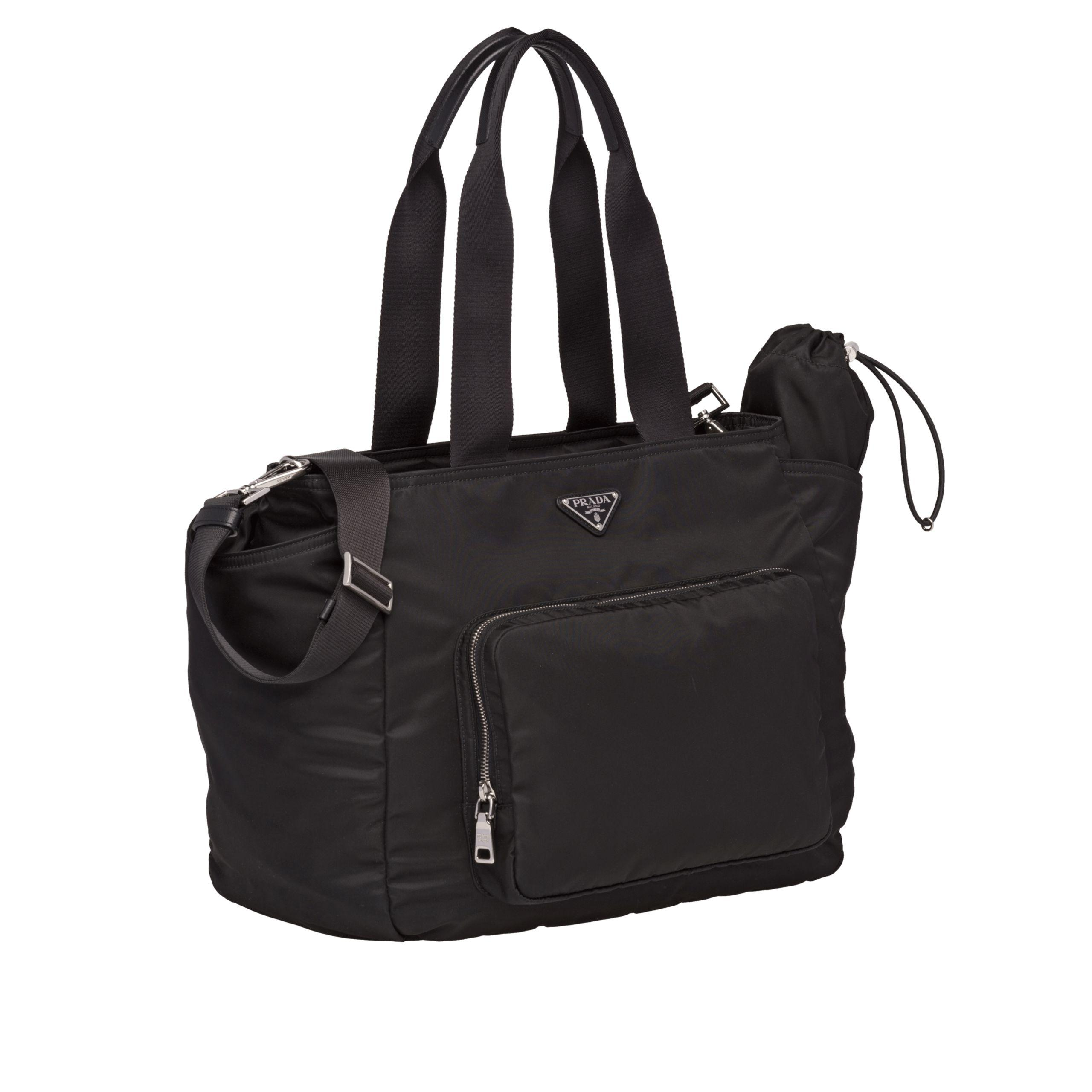 8c60ac3990cd Prada - Black Fabric Baby Bag - Lyst. View fullscreen