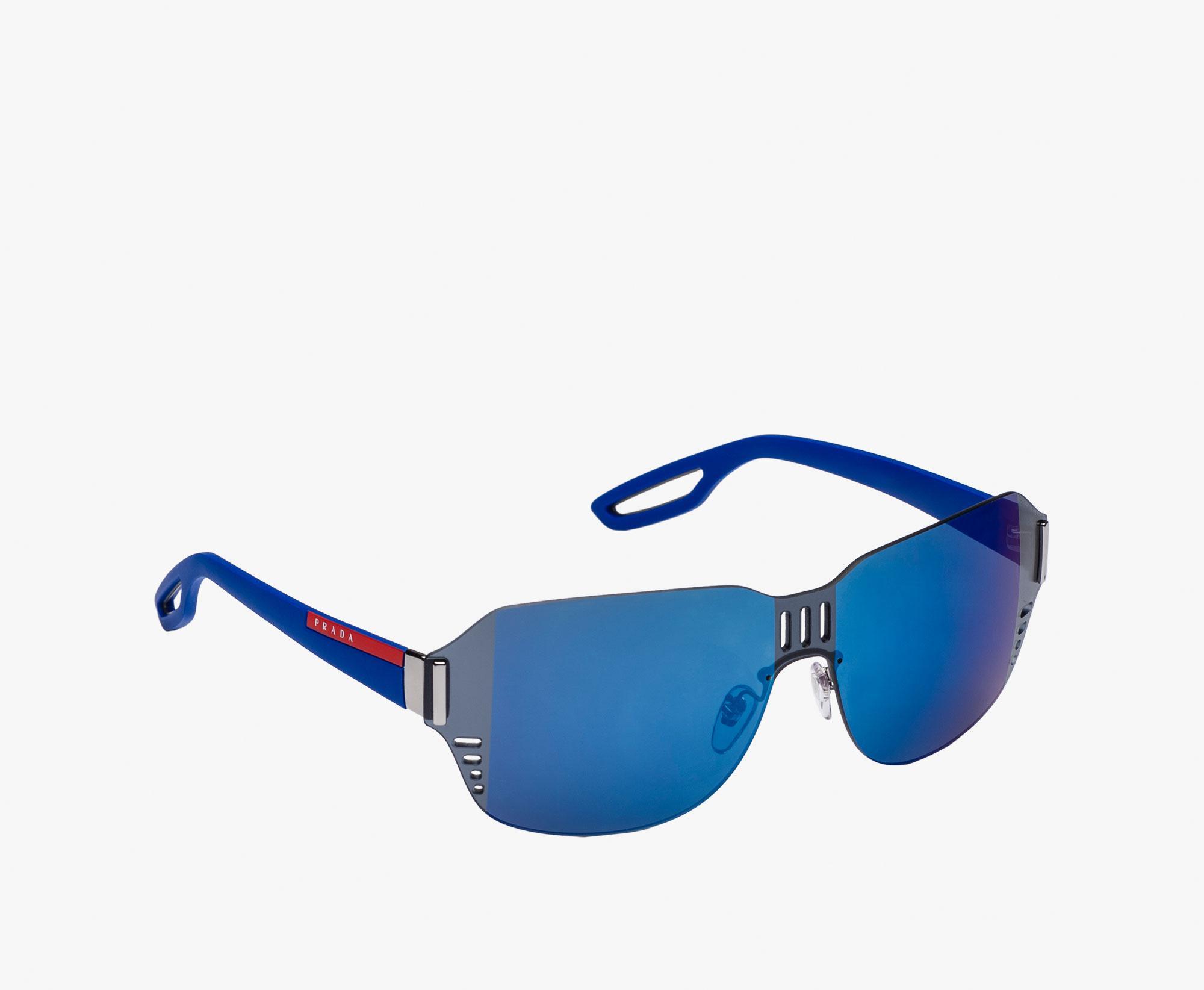 8c006c2635f Lyst - Prada Linea Rossa L.j. Silver in Blue