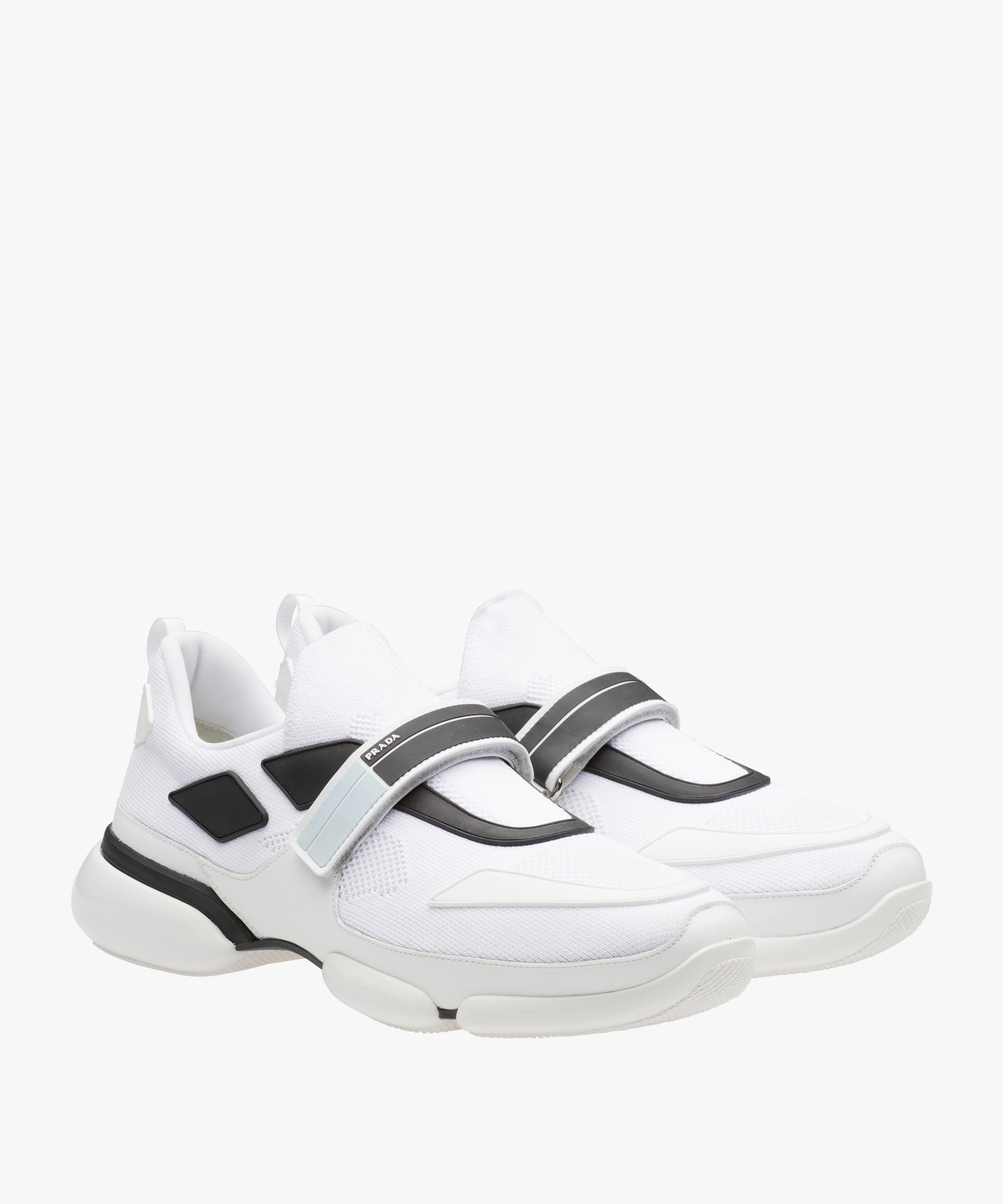 Sneaker Cloudbust Blanc Prada vIbIQnD