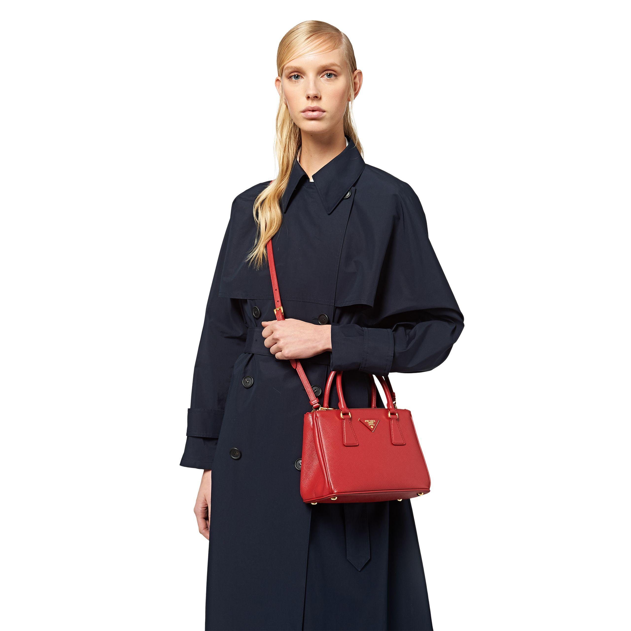 Prada Galleria Mini Saffiano Leather