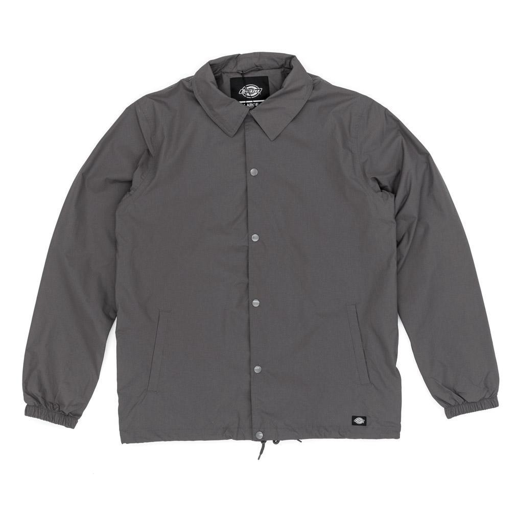 Dickies Synthetic Torrance Coach Jacket In Charcoal in Grey (Grey) for Men