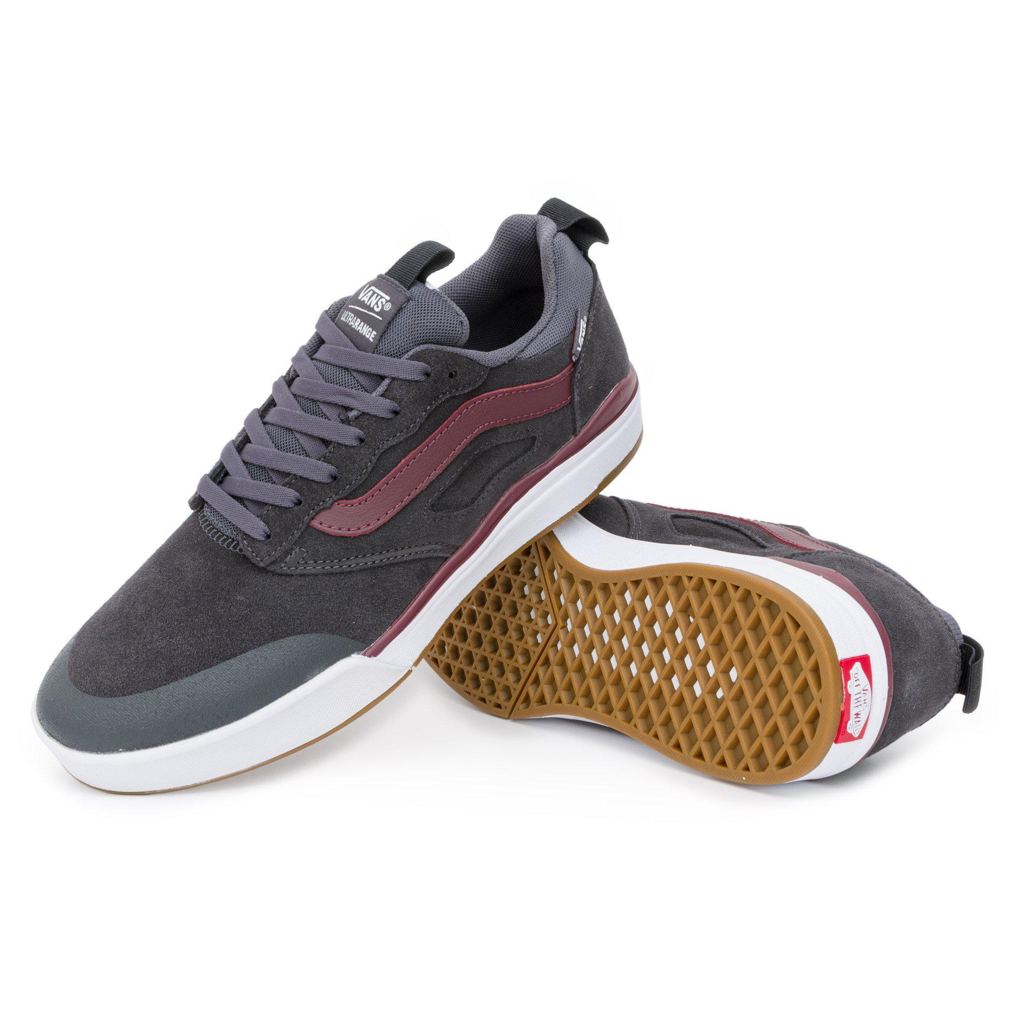 Vans Suede Ultrarange Mesh Pro Shoes in Grey (Gray) for Men - Lyst