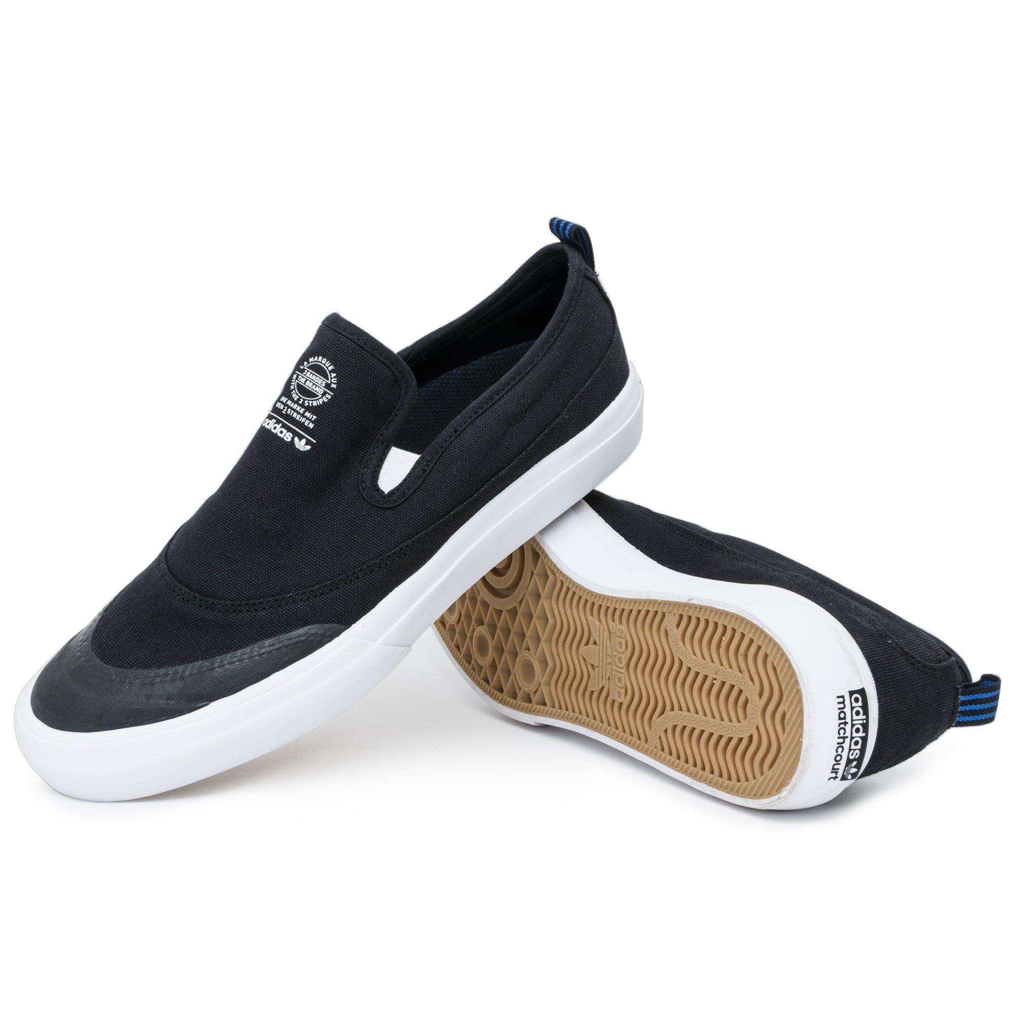 adidas Rubber Matchcourt Slip On Shoes