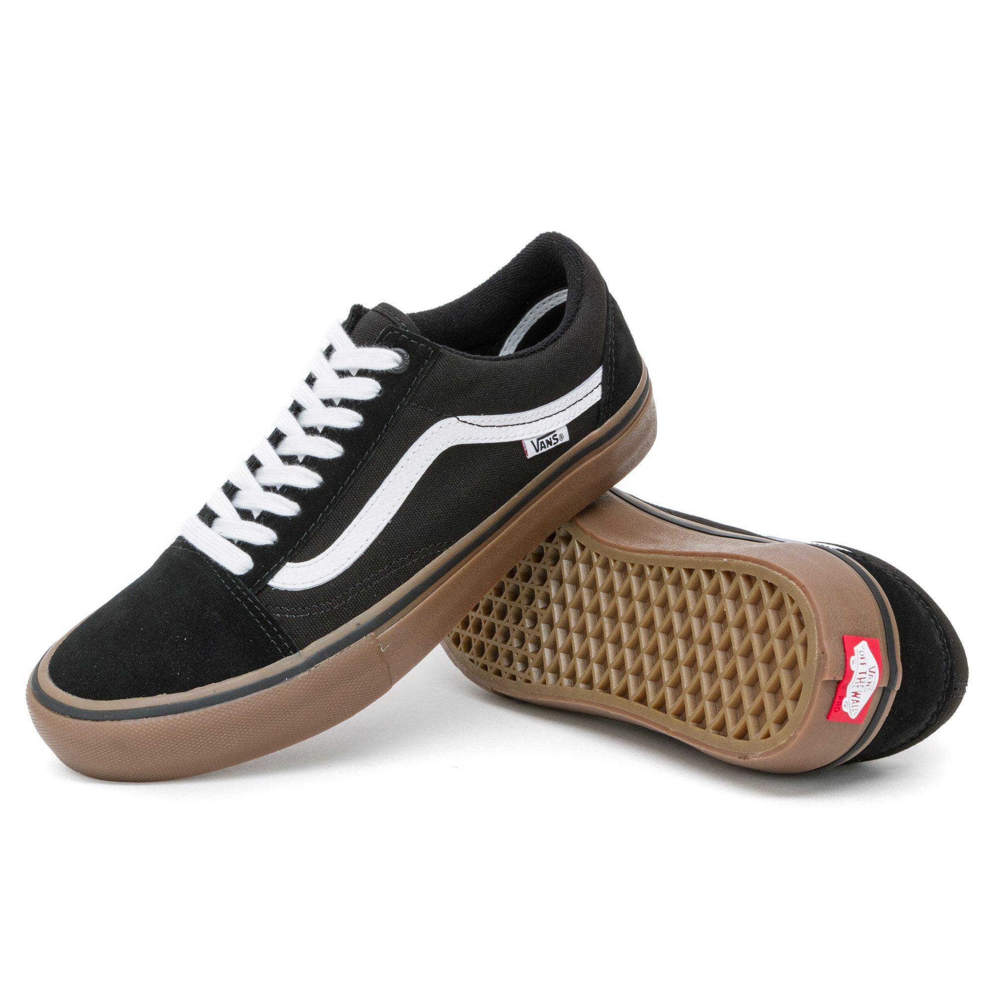 b827de5cdf Vans - Black Old Skool Pro Shoes for Men - Lyst. View fullscreen