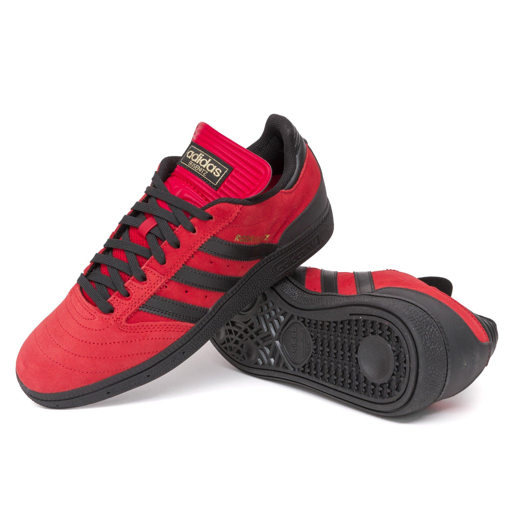 adidas Rubber Busenitz Shoes in Red for
