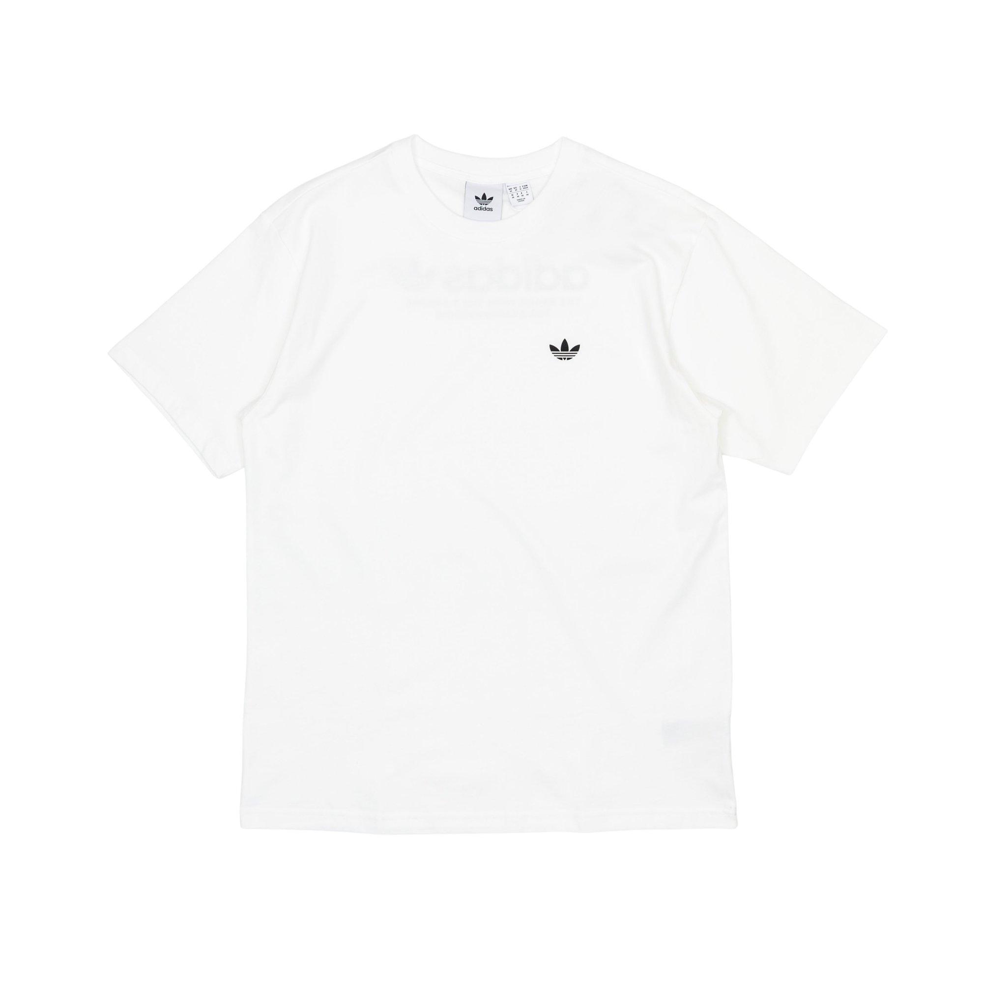adidas Cotton 4.0 Logo T-shirt in White for Men - Lyst