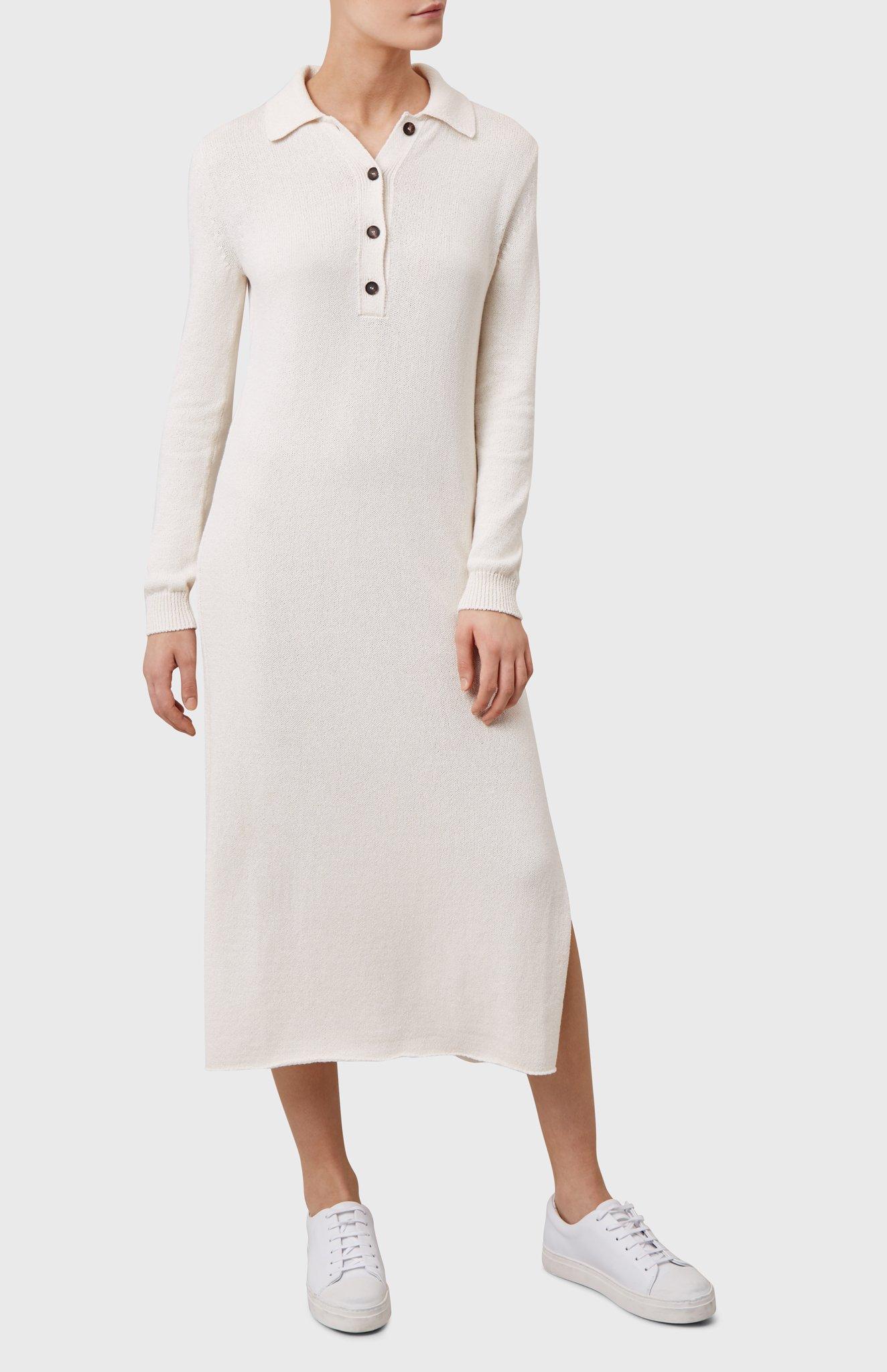cbdb765c Off White Polo Dress Shirt   Top Mode Depot