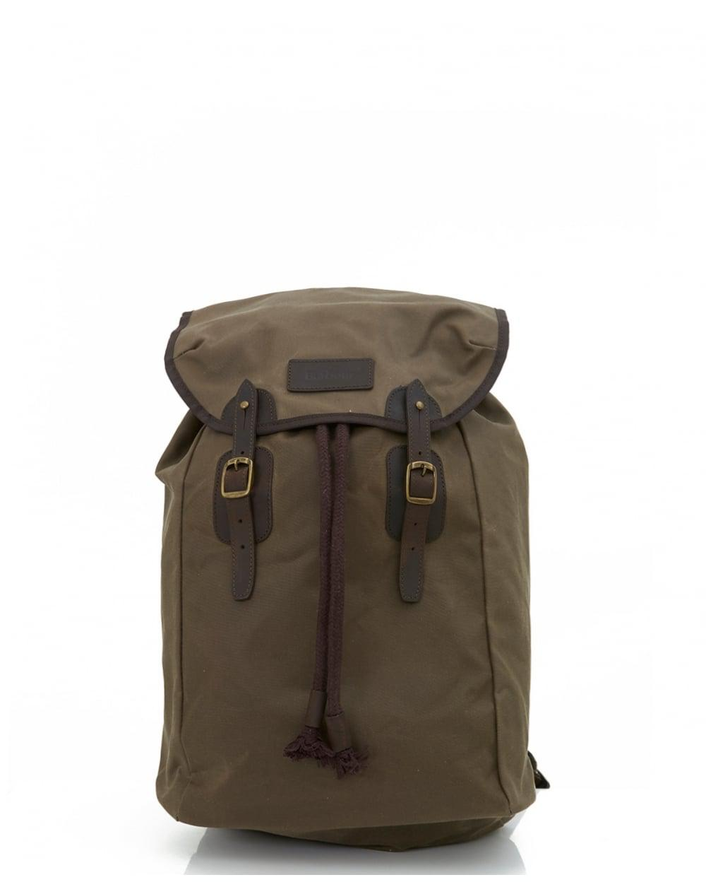 22d0d6f3ba Barbour Waxed Leather And Canvas Backpack- Fenix Toulouse Handball