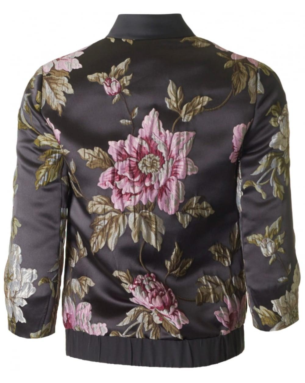 a20cf6ffa6e21 Lyst - Ted Baker Hartye Embroidered Bomber Jacket