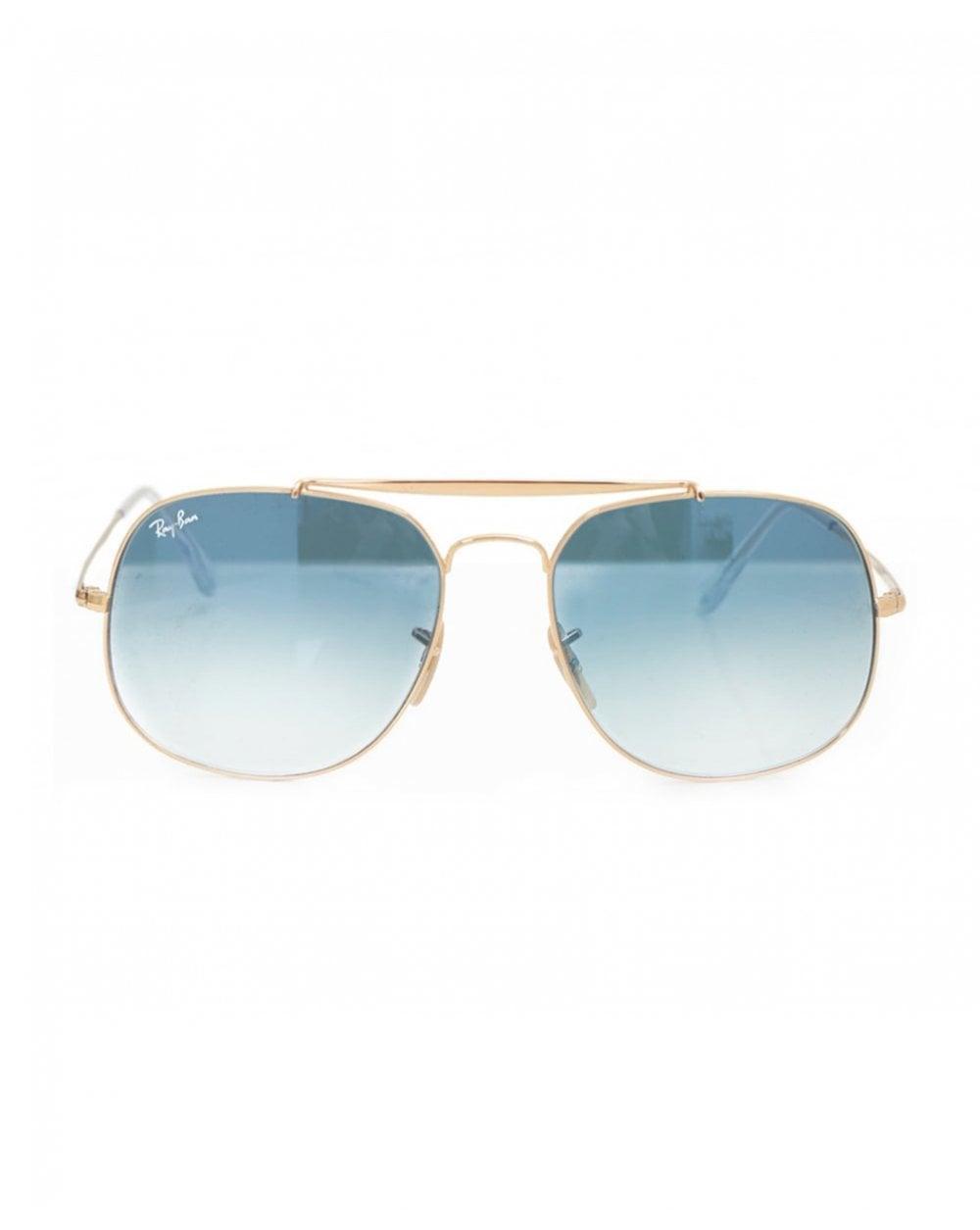 f07c15dd73372 Ray-Ban Double Bridge Sunglasses in Metallic for Men - Lyst