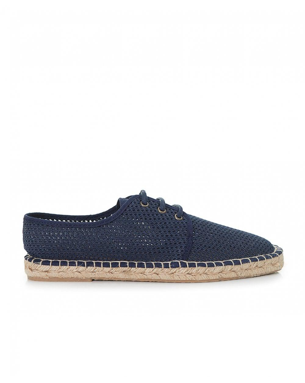 e4b40d955 H by Hudson Benson Mesh Lace Up Espadrilles in Blue for Men - Save ...