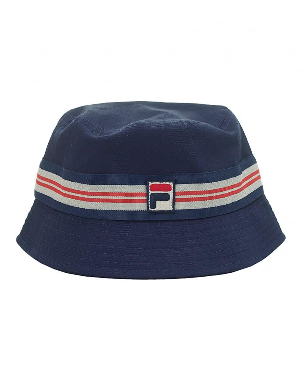 1571f8eae55 Fila Vintage Bucket Hat in Blue for Men - Lyst