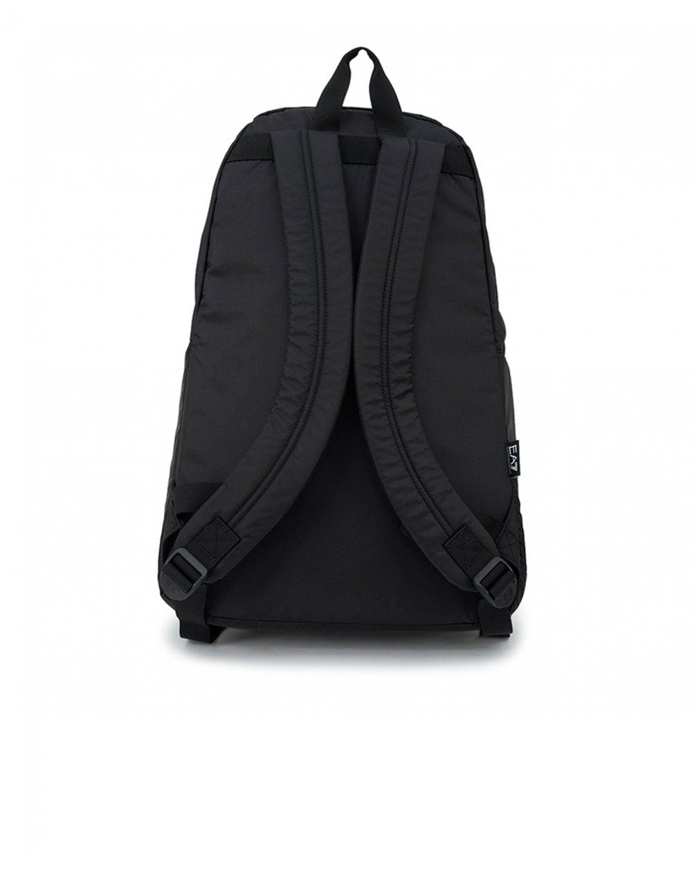 dfe25a98fa Lyst - EA7 Train Prime Backpack in Black for Men
