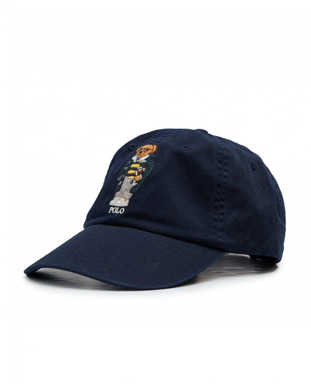 Polo Ralph Lauren Bear Cap in Blue for Men - Lyst 740530155cbf