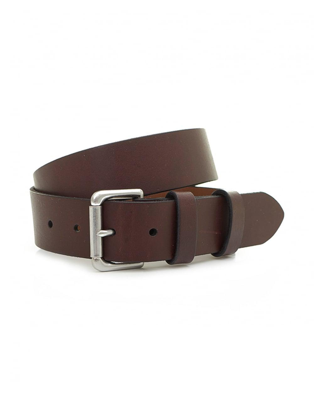 c44885a67da09 Polo Ralph Lauren Saddle Leather Jeans Belt in Brown for Men - Lyst