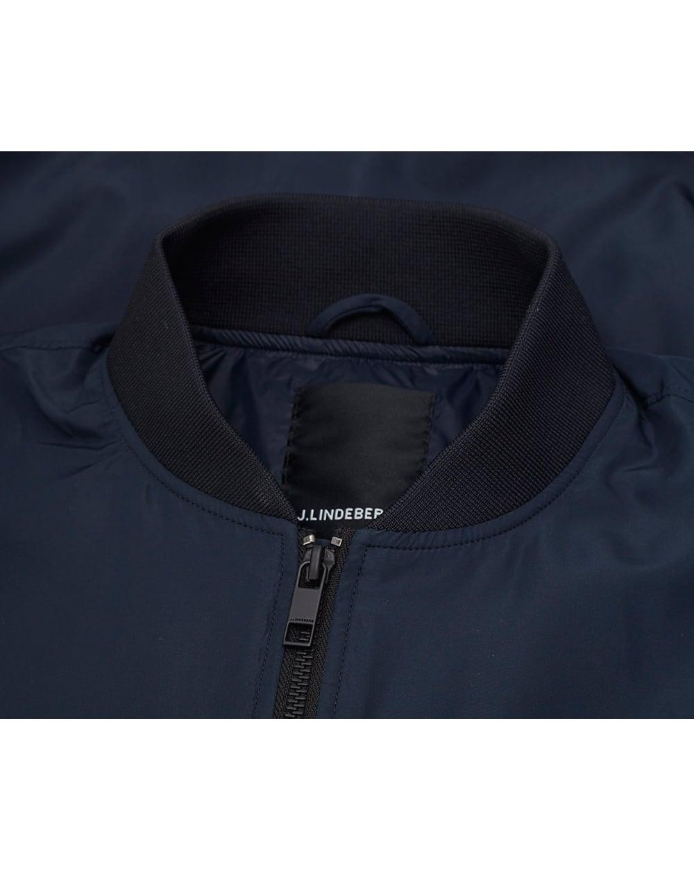 83607e80e J.Lindeberg Synthetic Thom Bomber Jacket in Blue for Men - Lyst