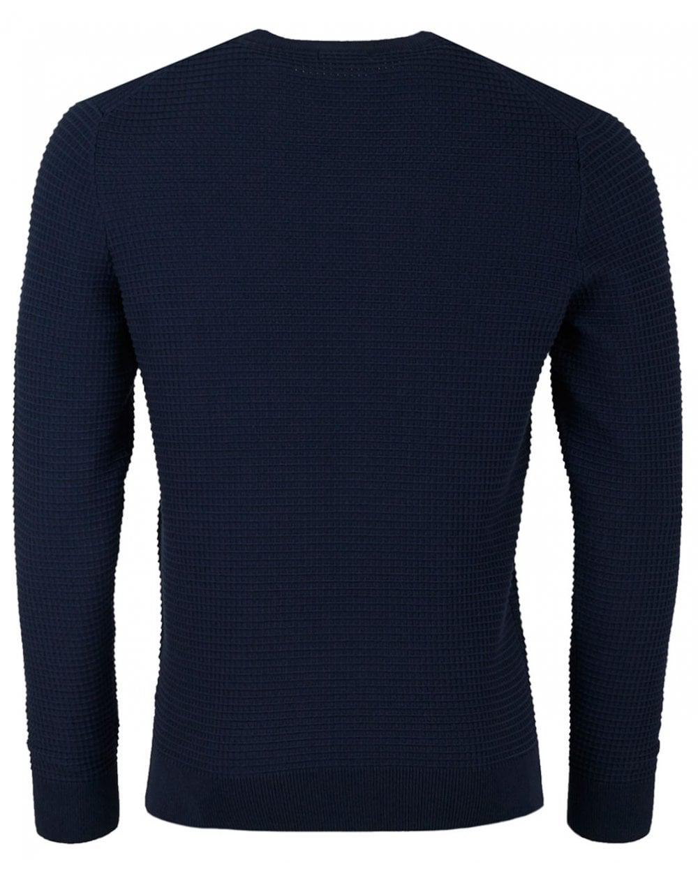 282d424652 J.Lindeberg Lexter Square Structured Knit in Blue for Men - Lyst