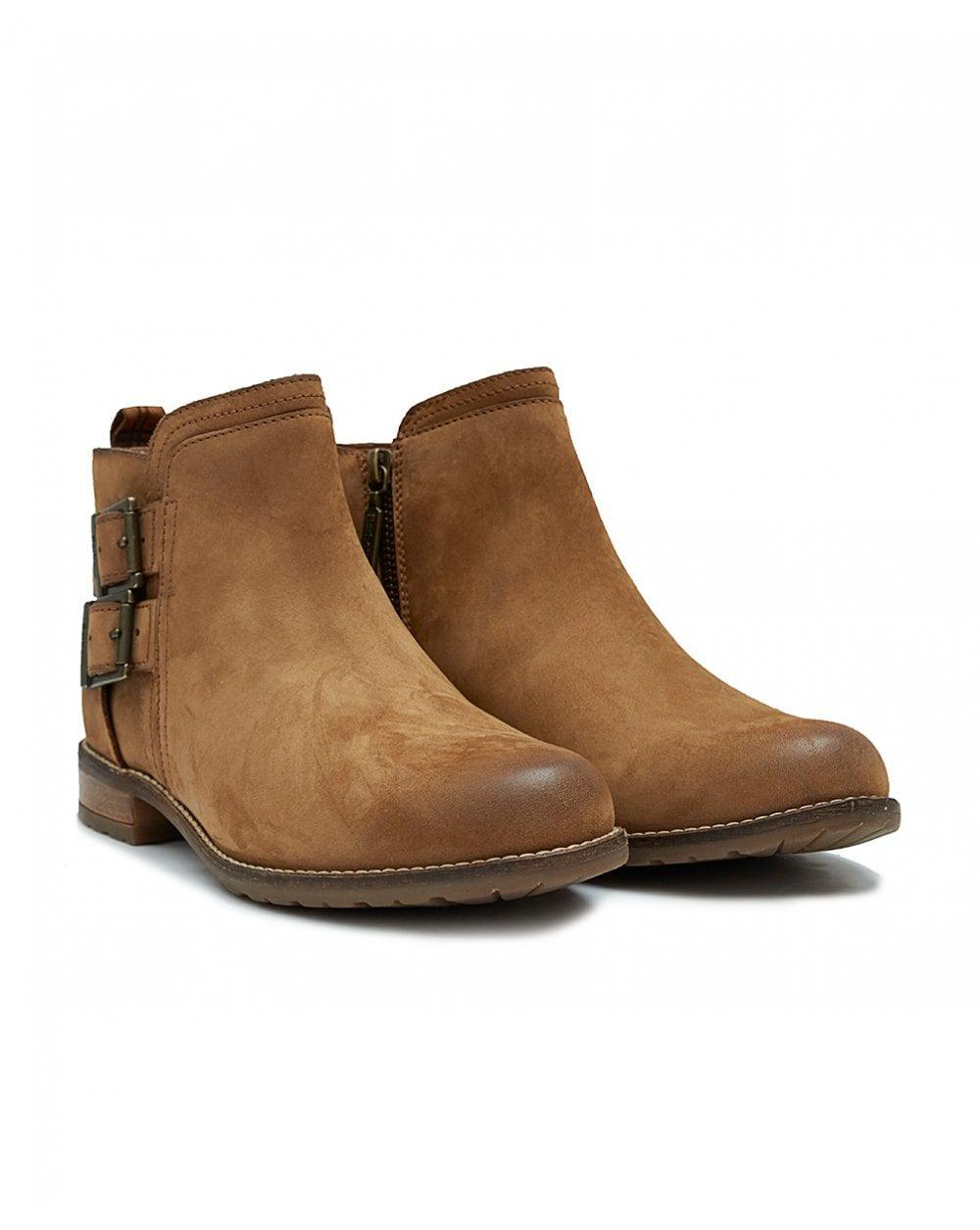 bc814078 Lyst - Barbour Sarah Buckle Ankle Boots in Brown