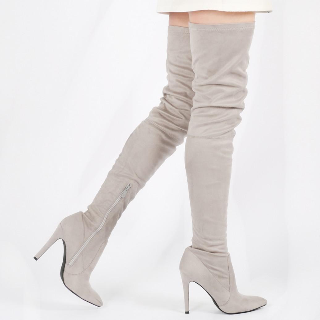 Public Desire Alexus Thigh High Boots