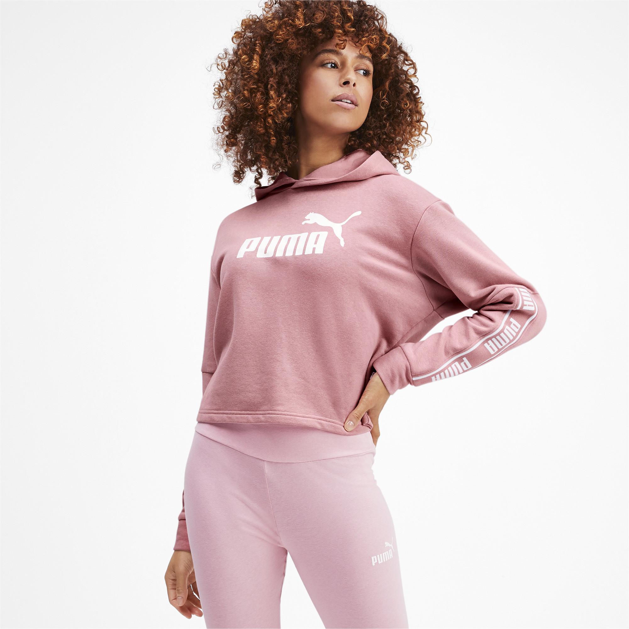 Sportbekleidung Puma Damen Amplified Hoody TR Pullover Sport