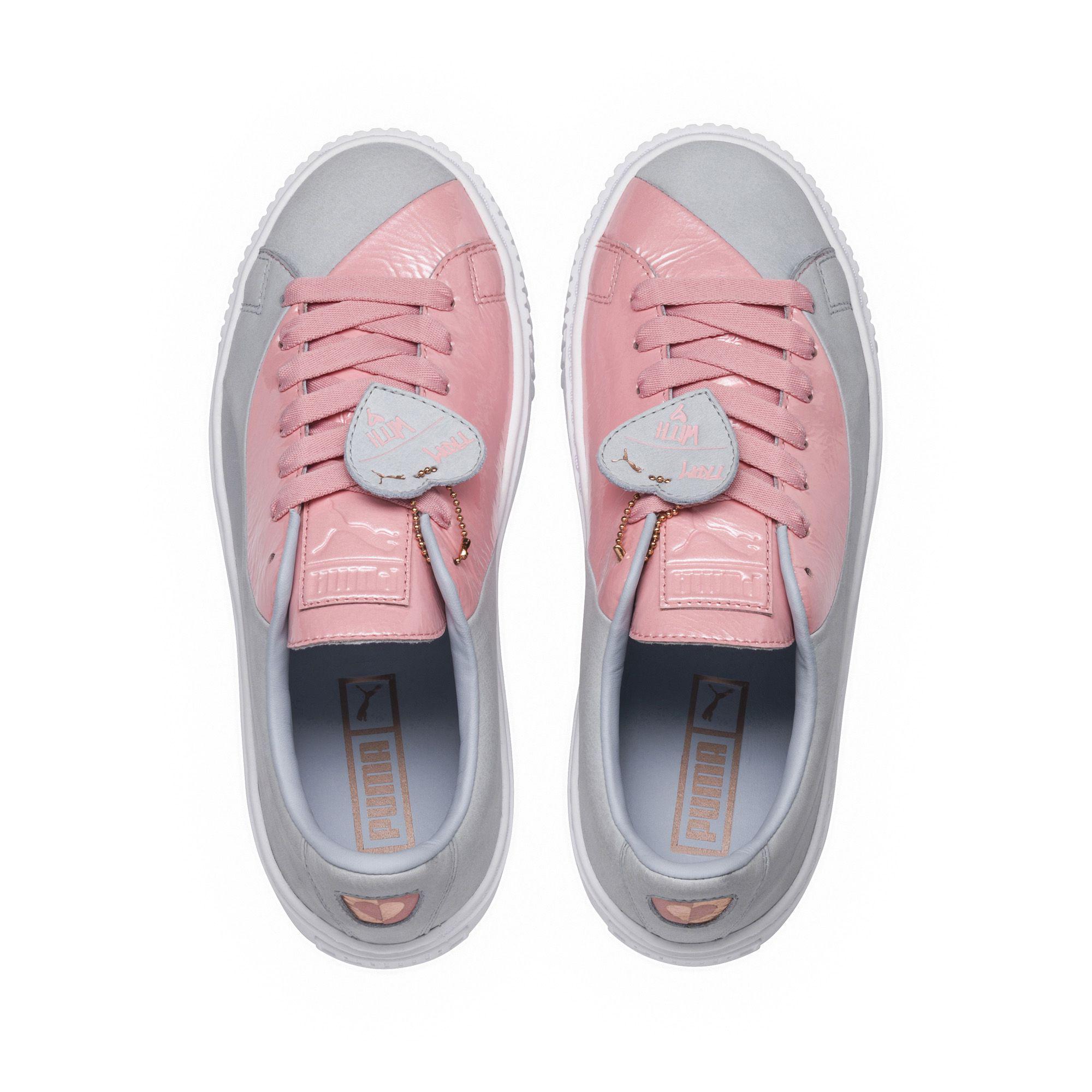 100% authenticated professional website order Basket Platform Valentine Women's Sneakers