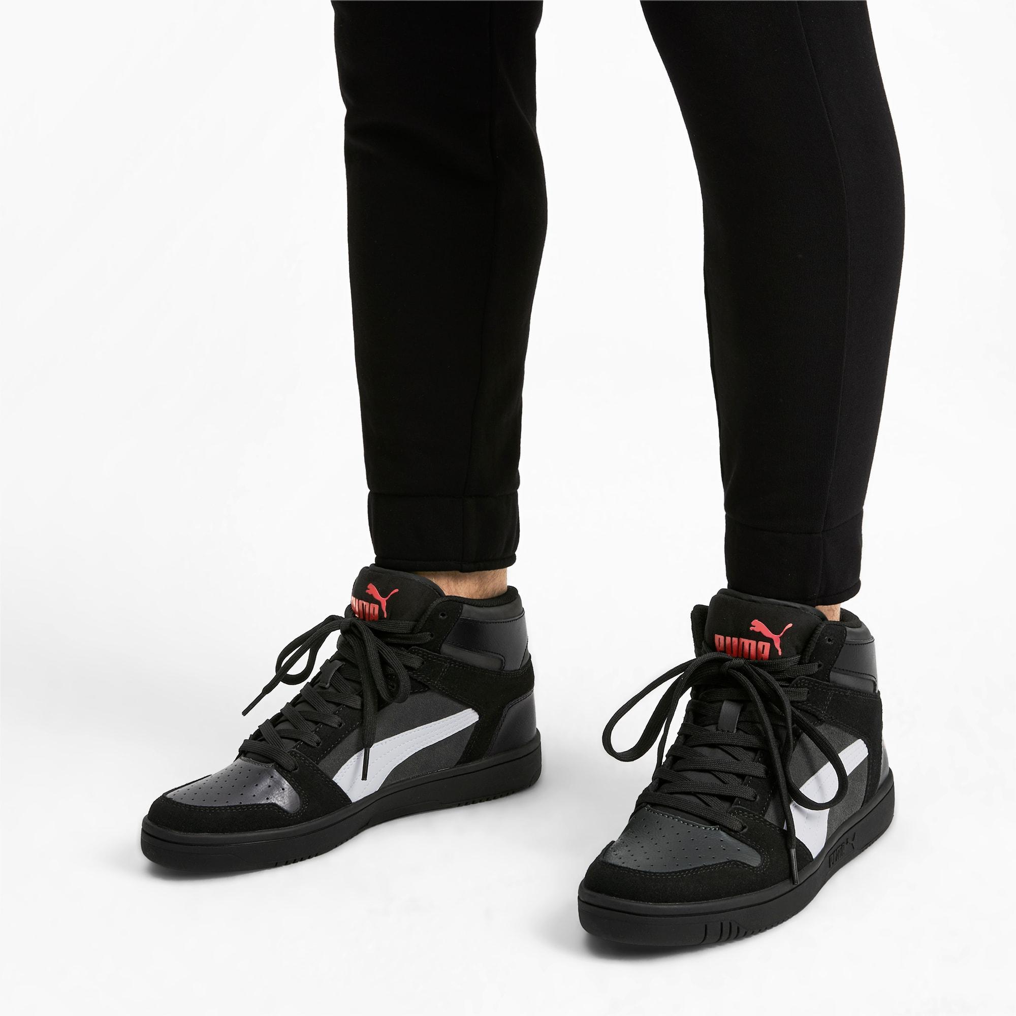 PUMA Rebound Layup Suede Men's Sneakers in Black for Men - Lyst