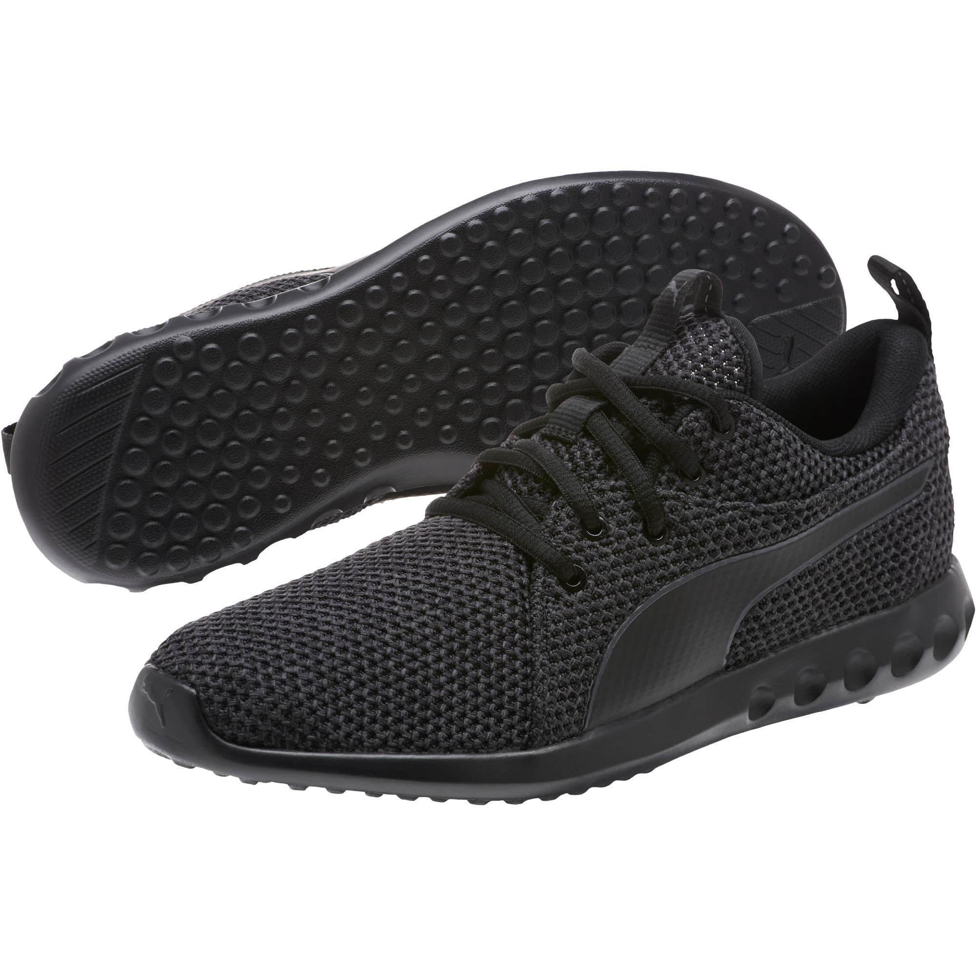697572b46058 PUMA - Black Carson 2 Nature Knit Women s Running Shoes - Lyst. View  fullscreen