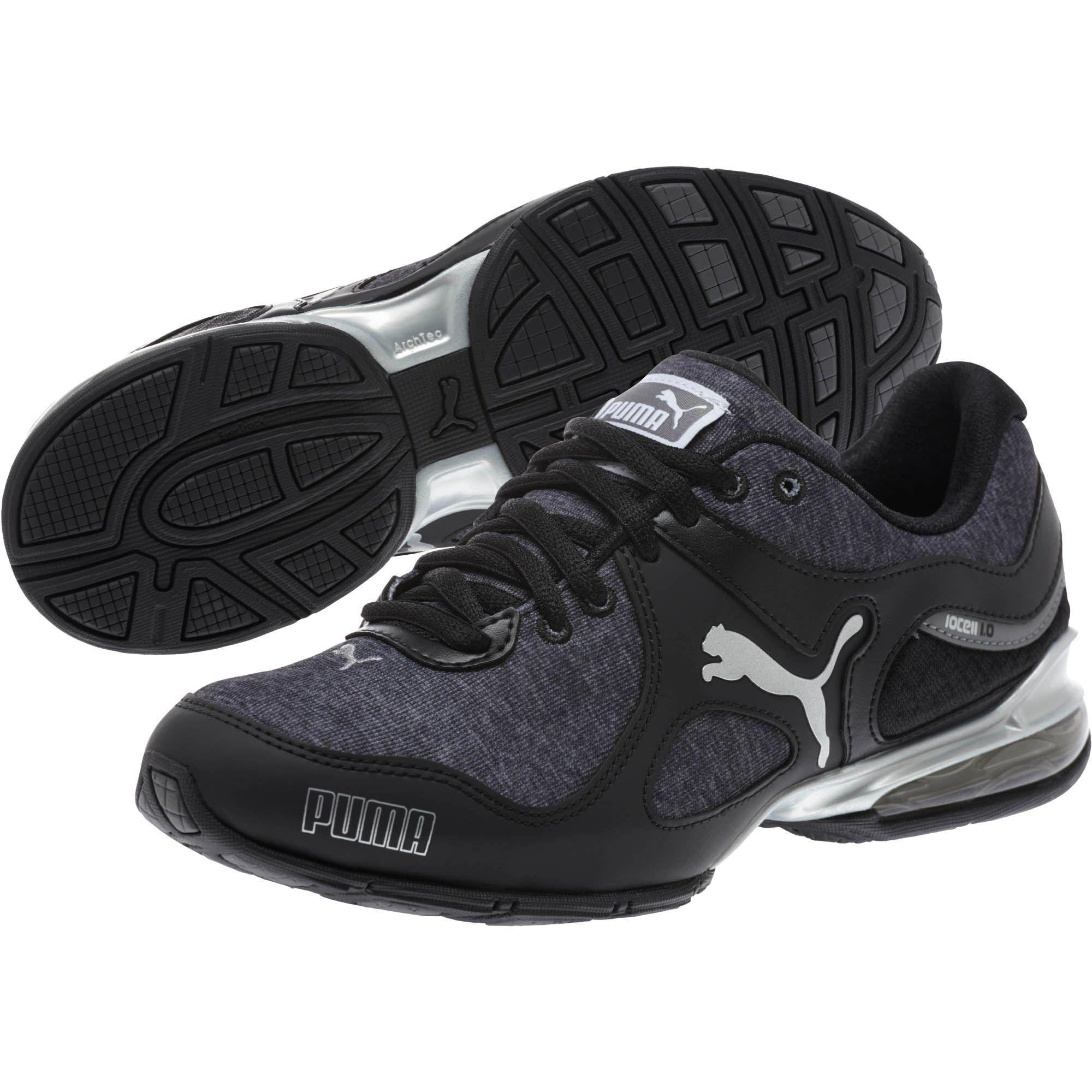 4639038e34080e Lyst - PUMA Cell Riaze Heather Women s Running Shoe in Black