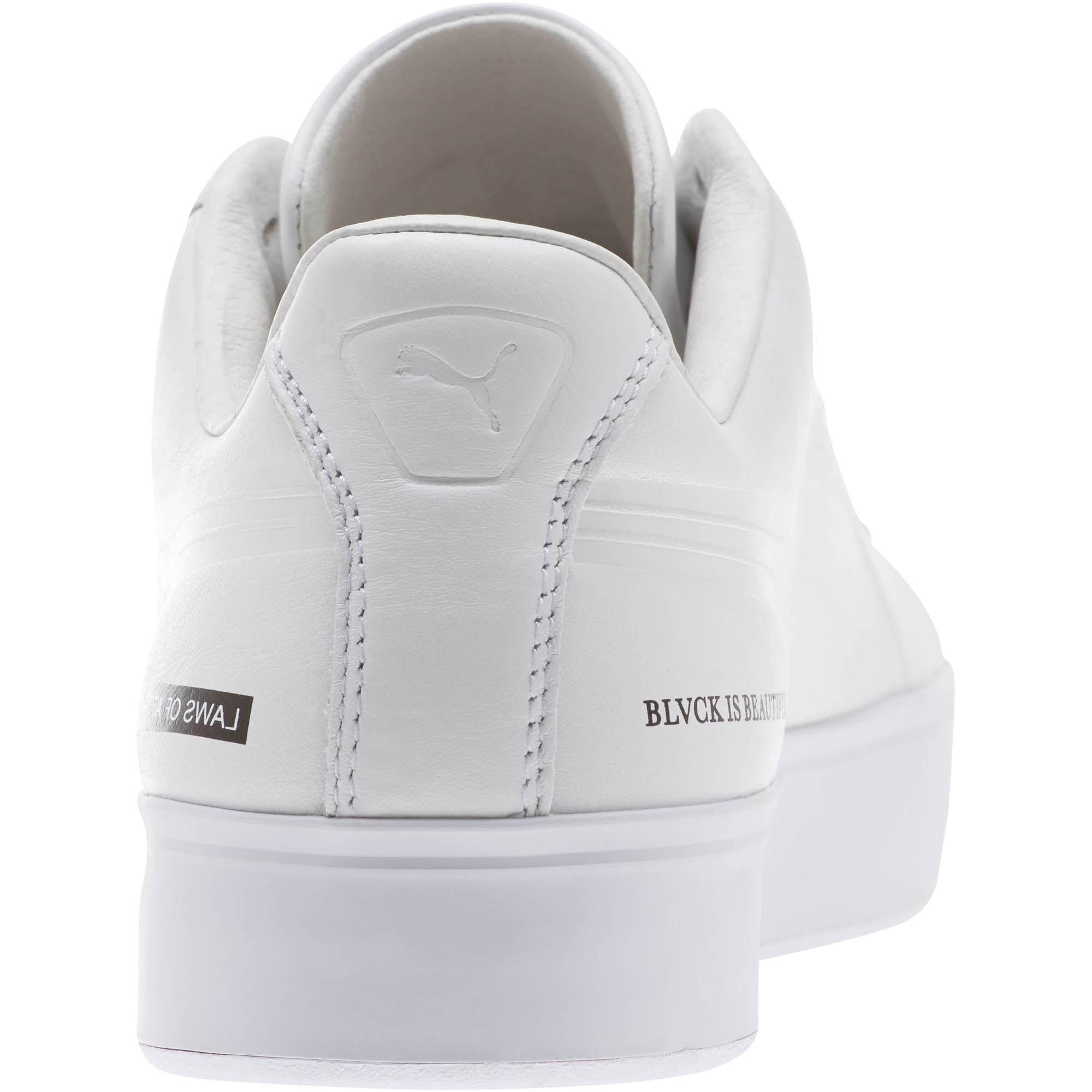 8e3f86467aec8d Lyst - PUMA X Black Scale Court Platform Men s Sneakers in White for Men