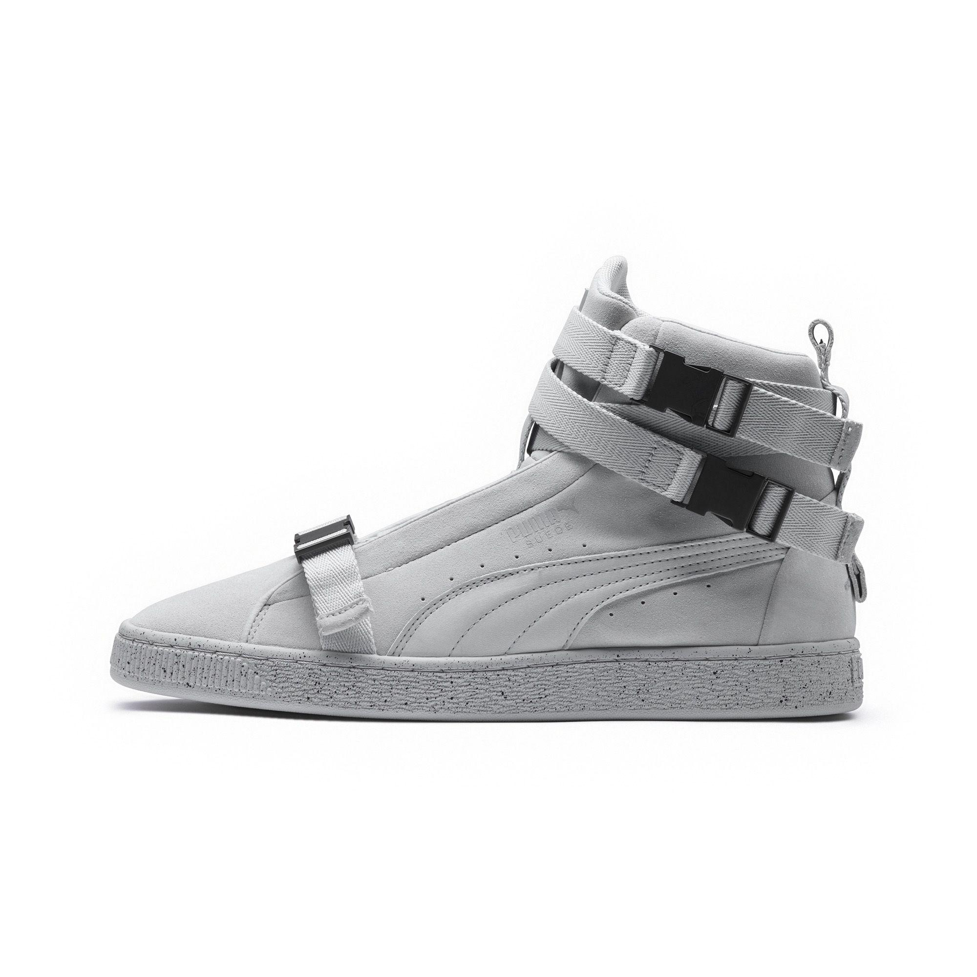 finest selection 49bd7 349be PUMA Gray X Xo Suede Classic Sneakers for men