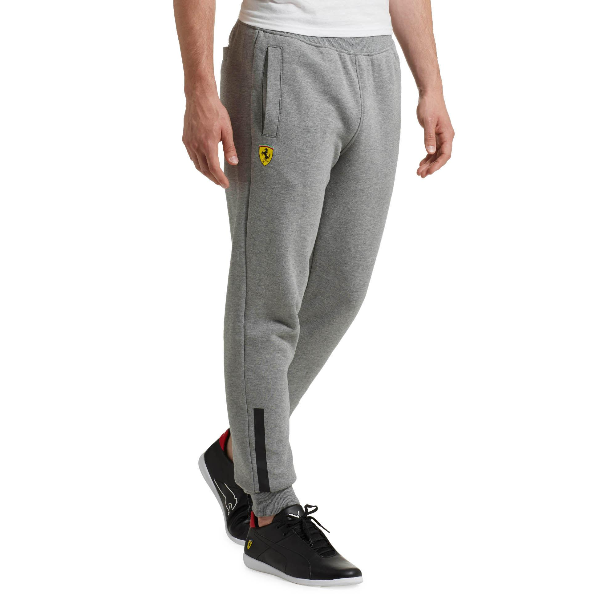 fc2c36ddfd PUMA Gray Ferrari Men's Sweatpants for men