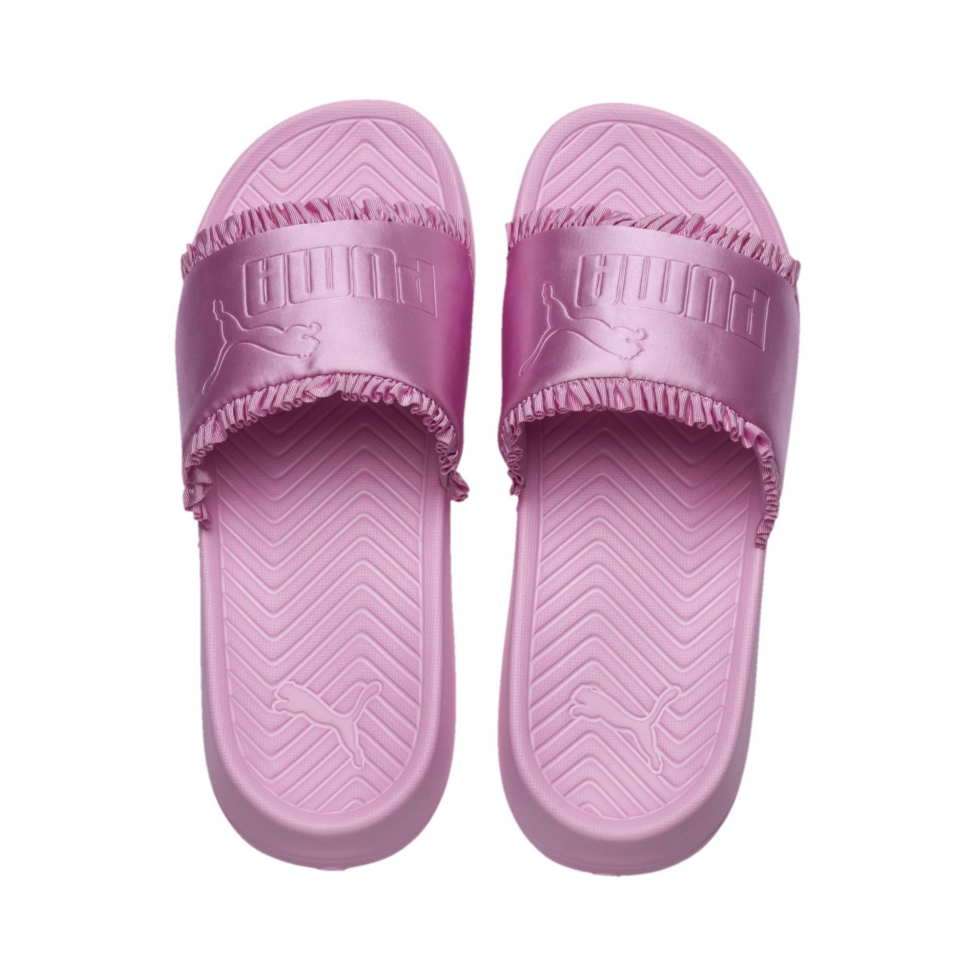 3bb4d17f89 Lyst - PUMA Popcat Silk Women's Slides in Pink