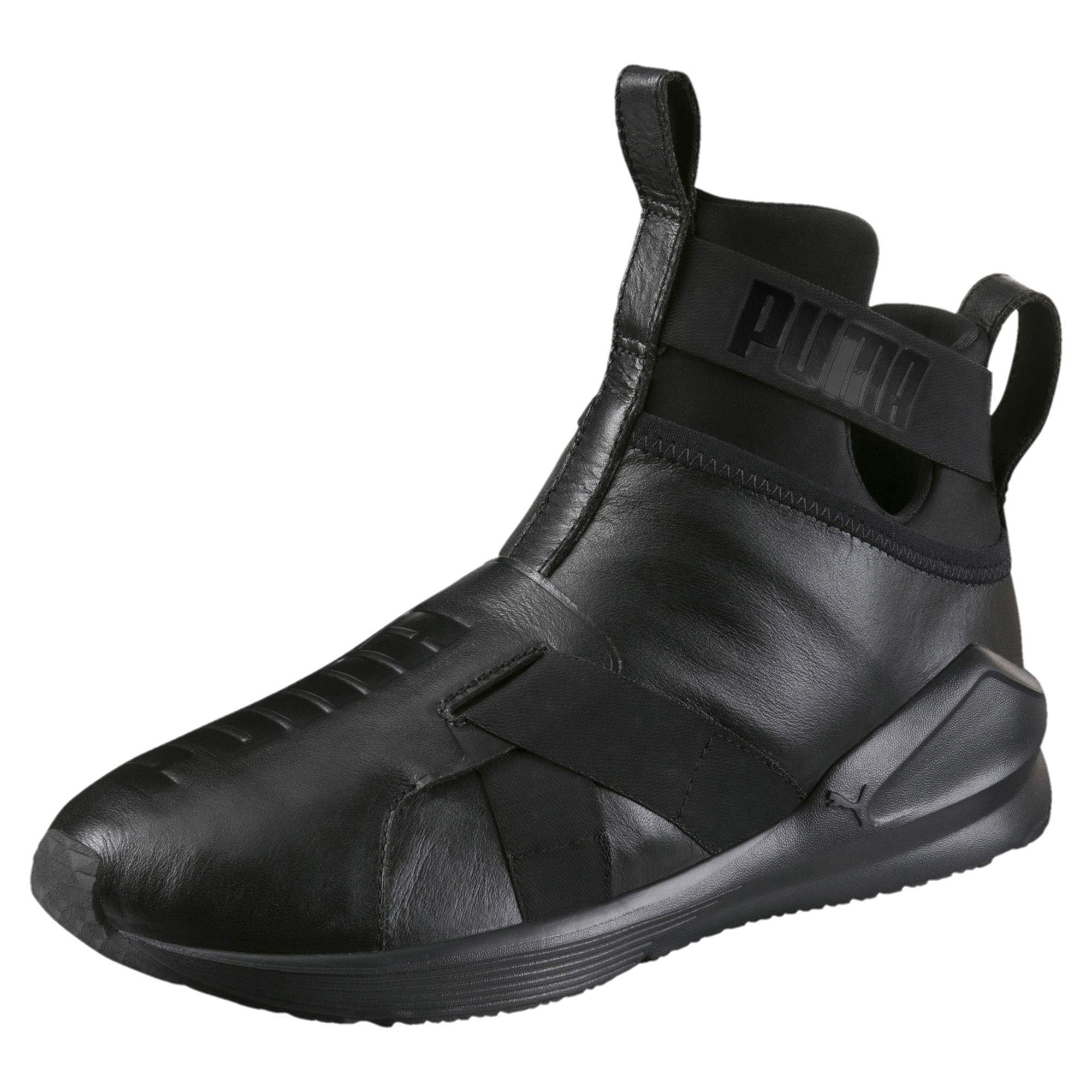 Wählen Sie für neueste moderate Kosten am besten authentisch Fierce Strap Leather Women's Training Shoes