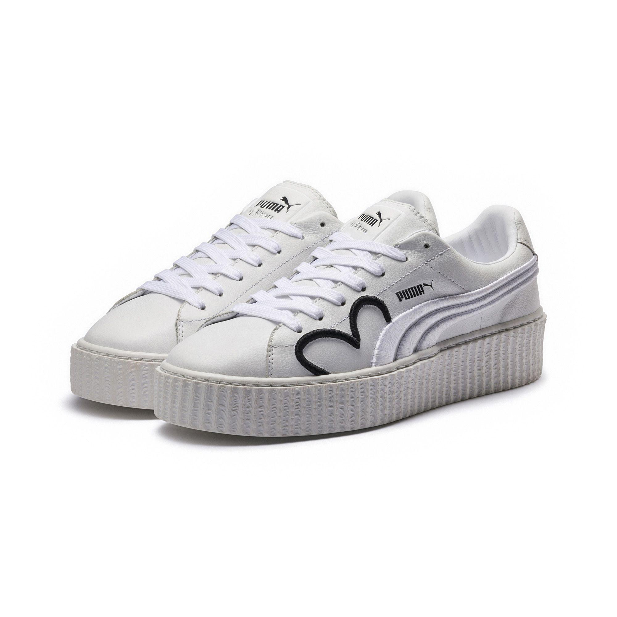 the best attitude 0cf35 39f03 White Fenty Clara Lionel Women's Creeper