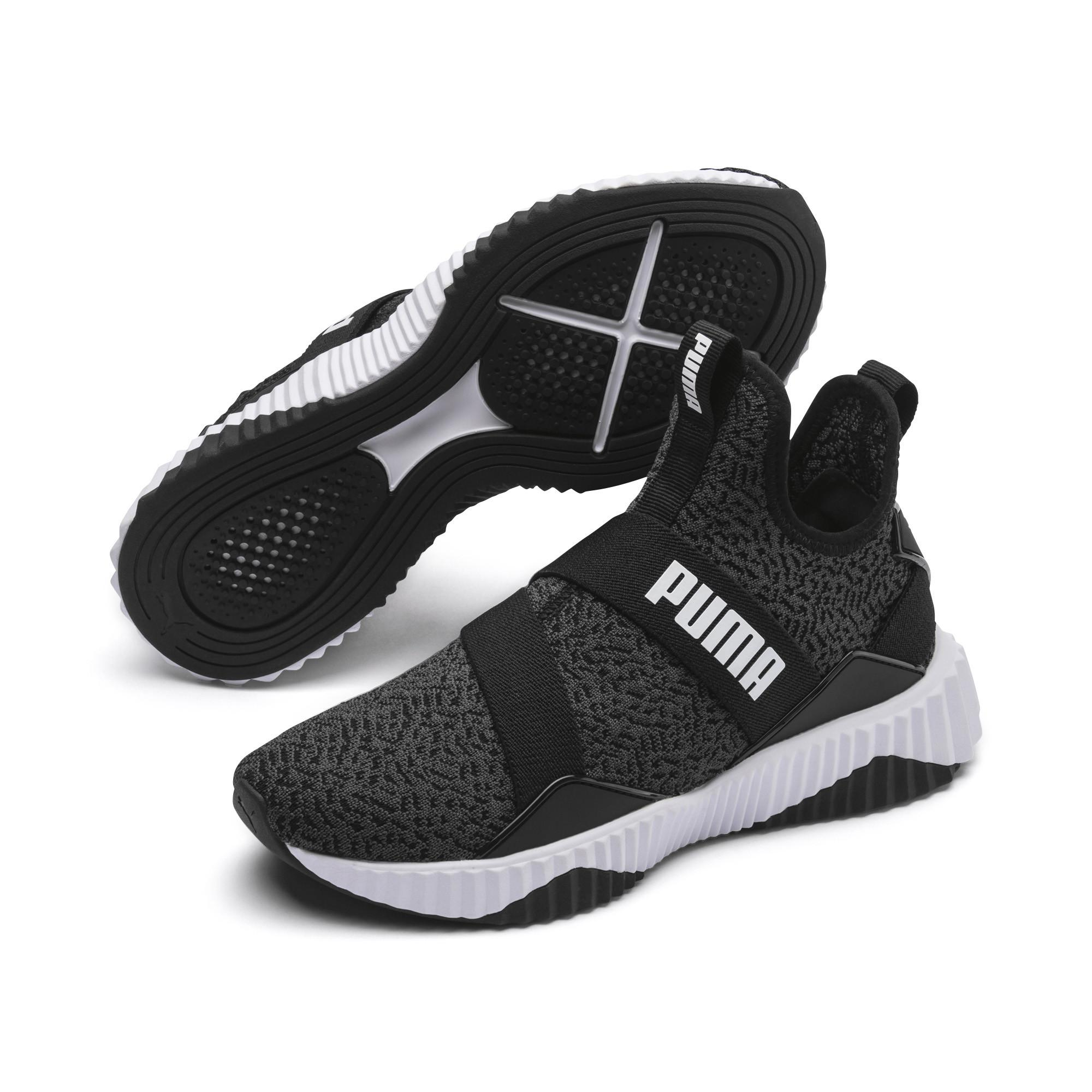15addca74c3 defy mid varsity trainers black puma la redoute special section ...