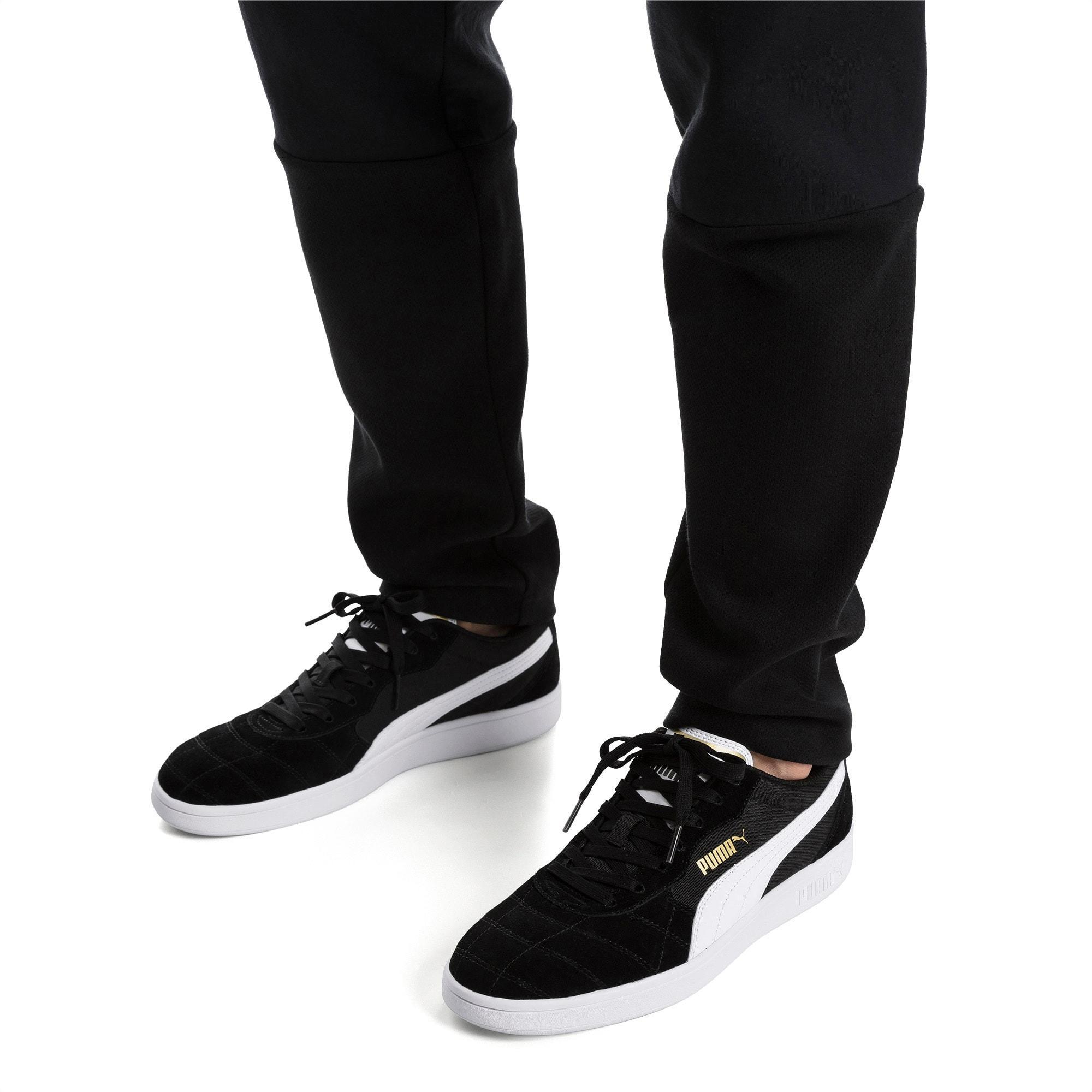 PUMA Astro Kick Sneaker in Black/White