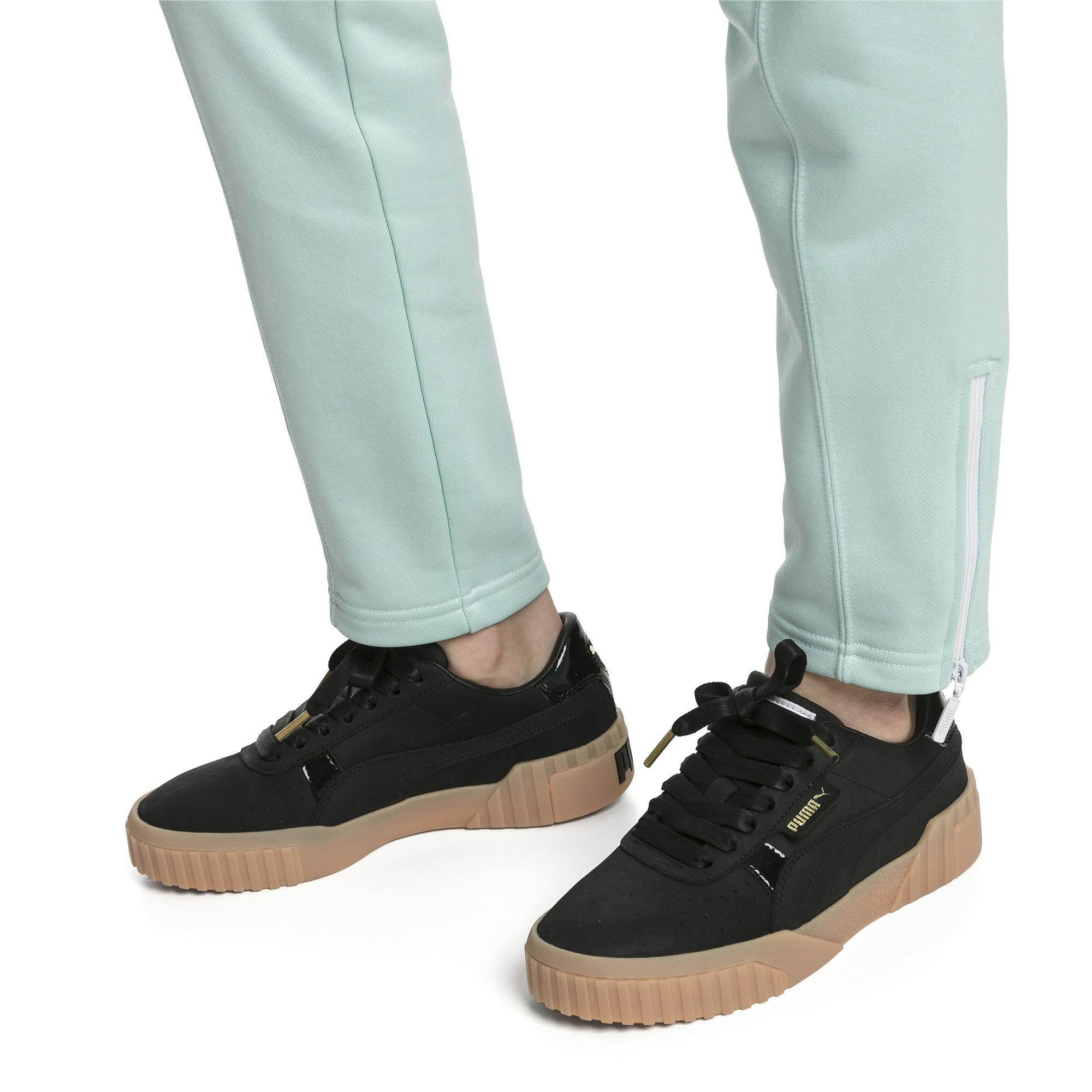 5dbc74d4b8 PUMA Black Cali Nubuck Women's Sneakers