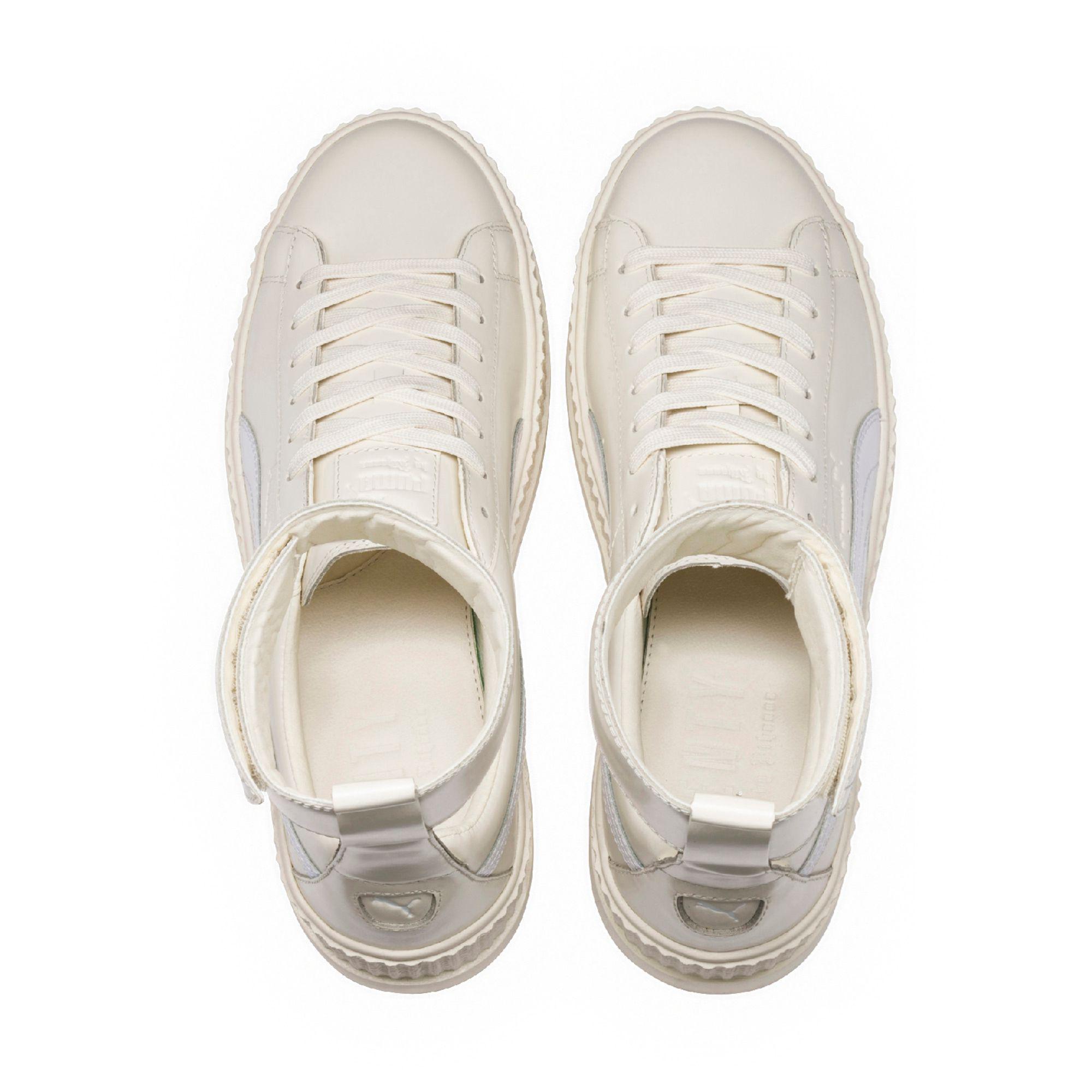 buy popular e9e91 31f53 White Fenty Men's Ankle Strap Sneaker