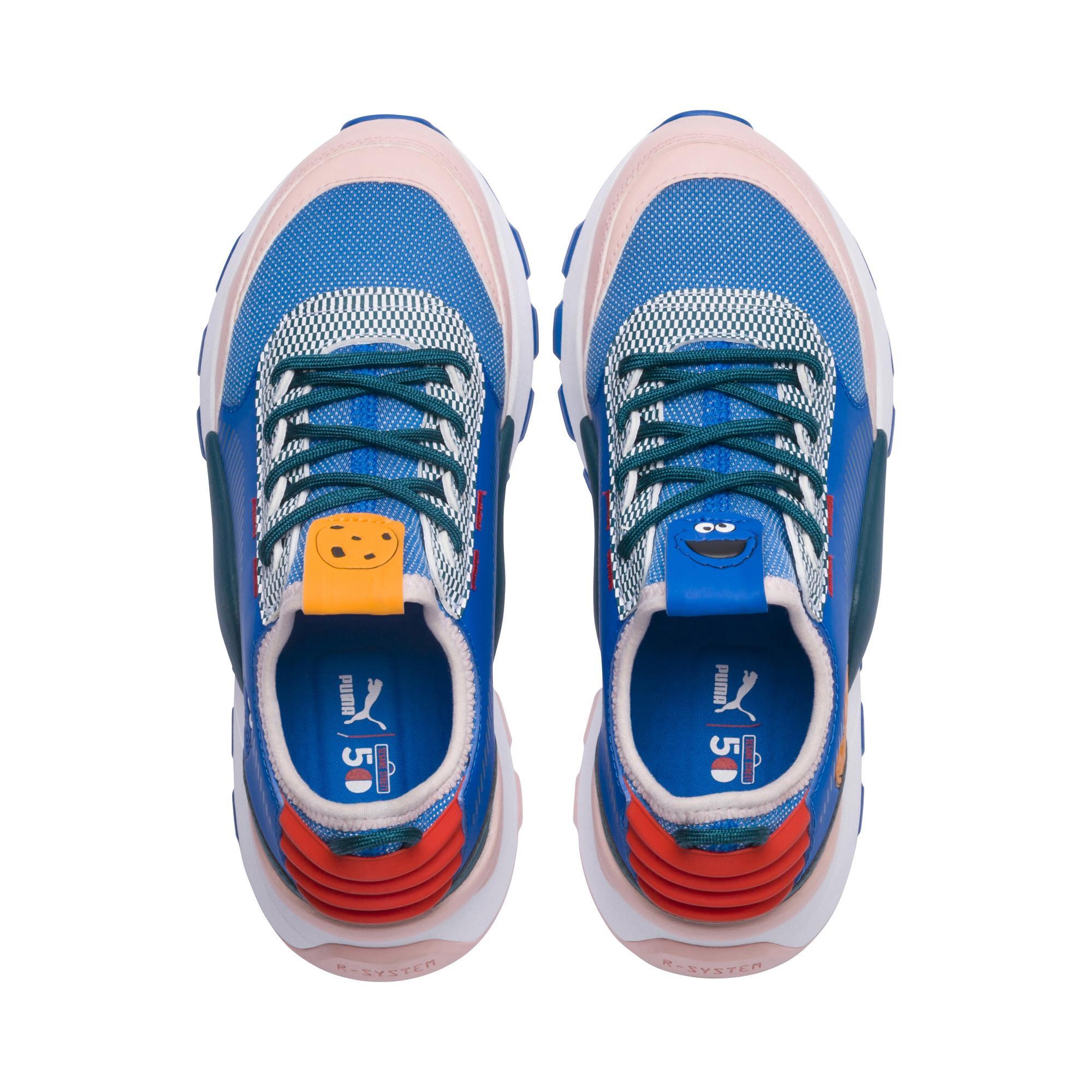 3f52bec5ddd51c PUMA - Blue Sesame Street 50 Rs-0 Sneakers Jr - Lyst. View fullscreen