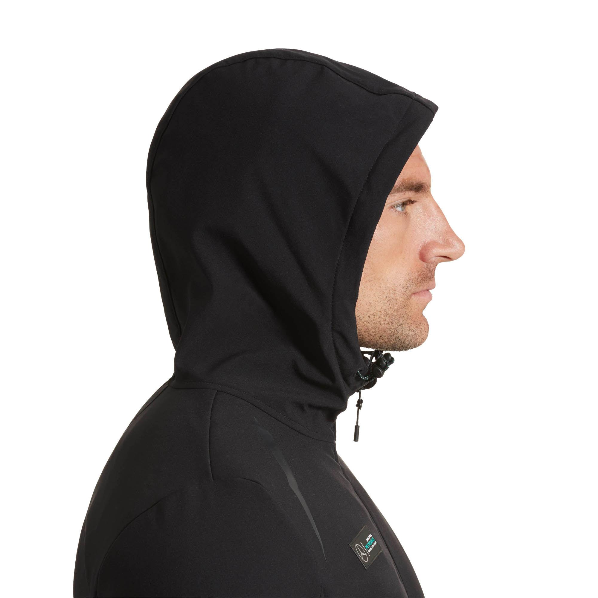 Lyst Puma Mercedes Amg Petronas Vent Softshell Jacket In Black For Men