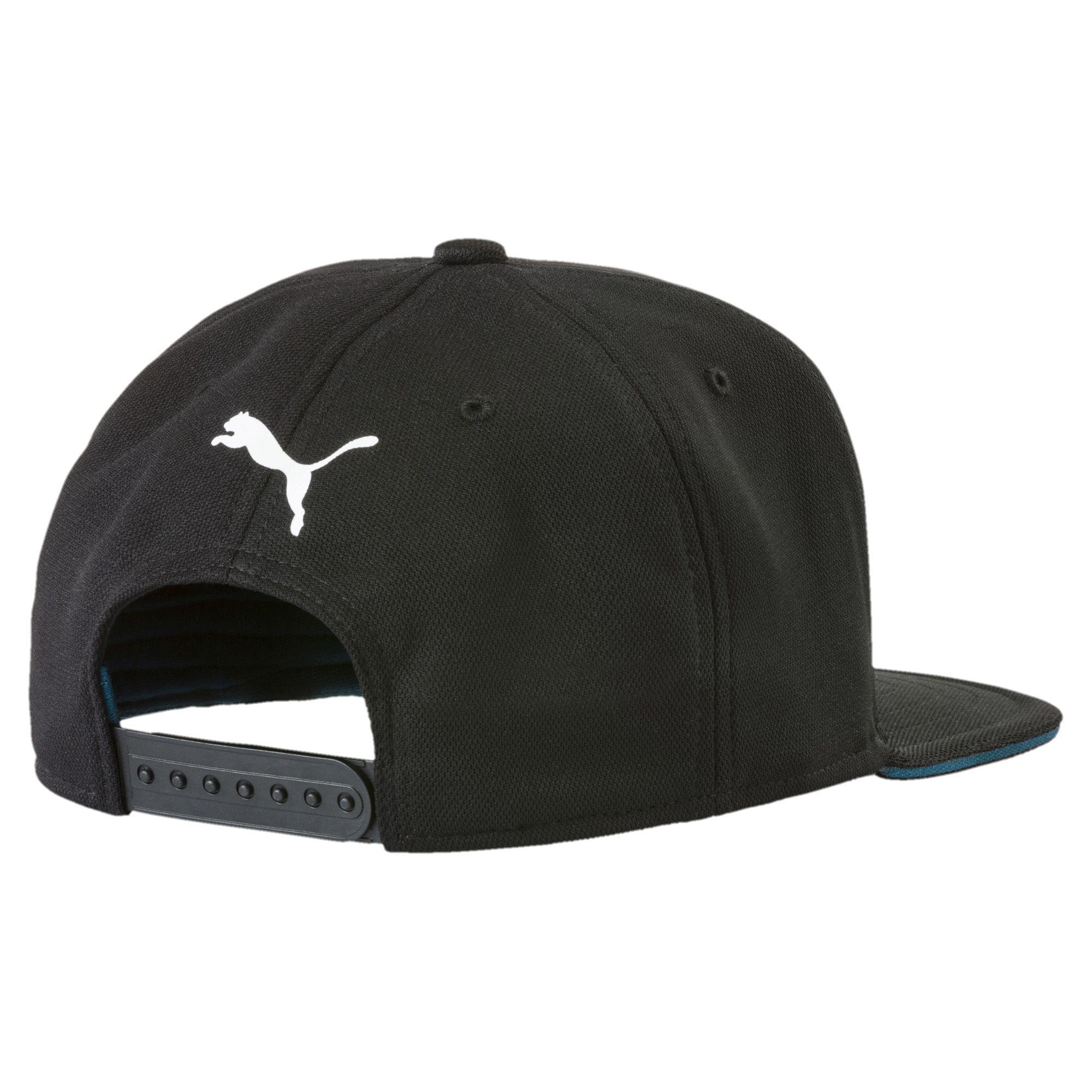 Lyst - PUMA Mercedes Amg Petronas Motorsport Flatbrim Hat in Black ... 51c41daee34a