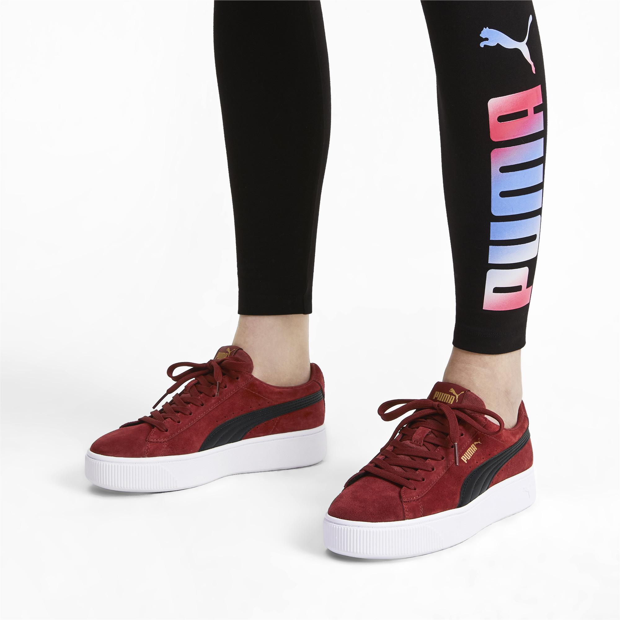 PUMA Vikky Stacked Suede Women's Sneakers - Lyst