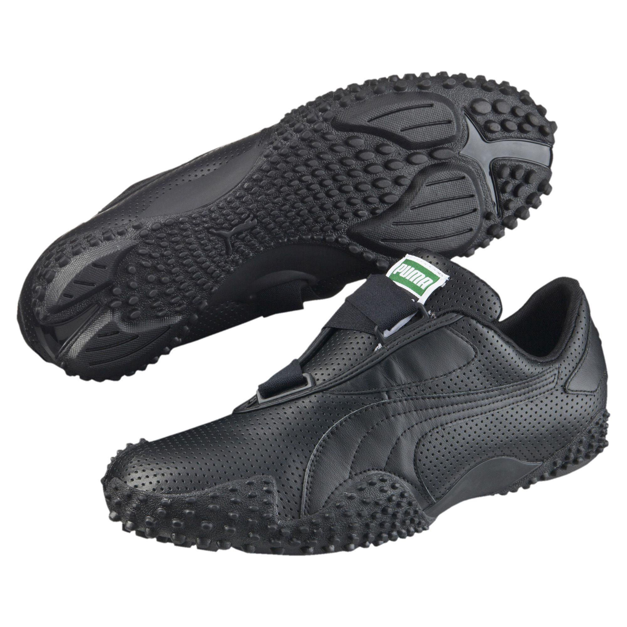 PUMA Mostro Perf Leather in Black for Men - Lyst
