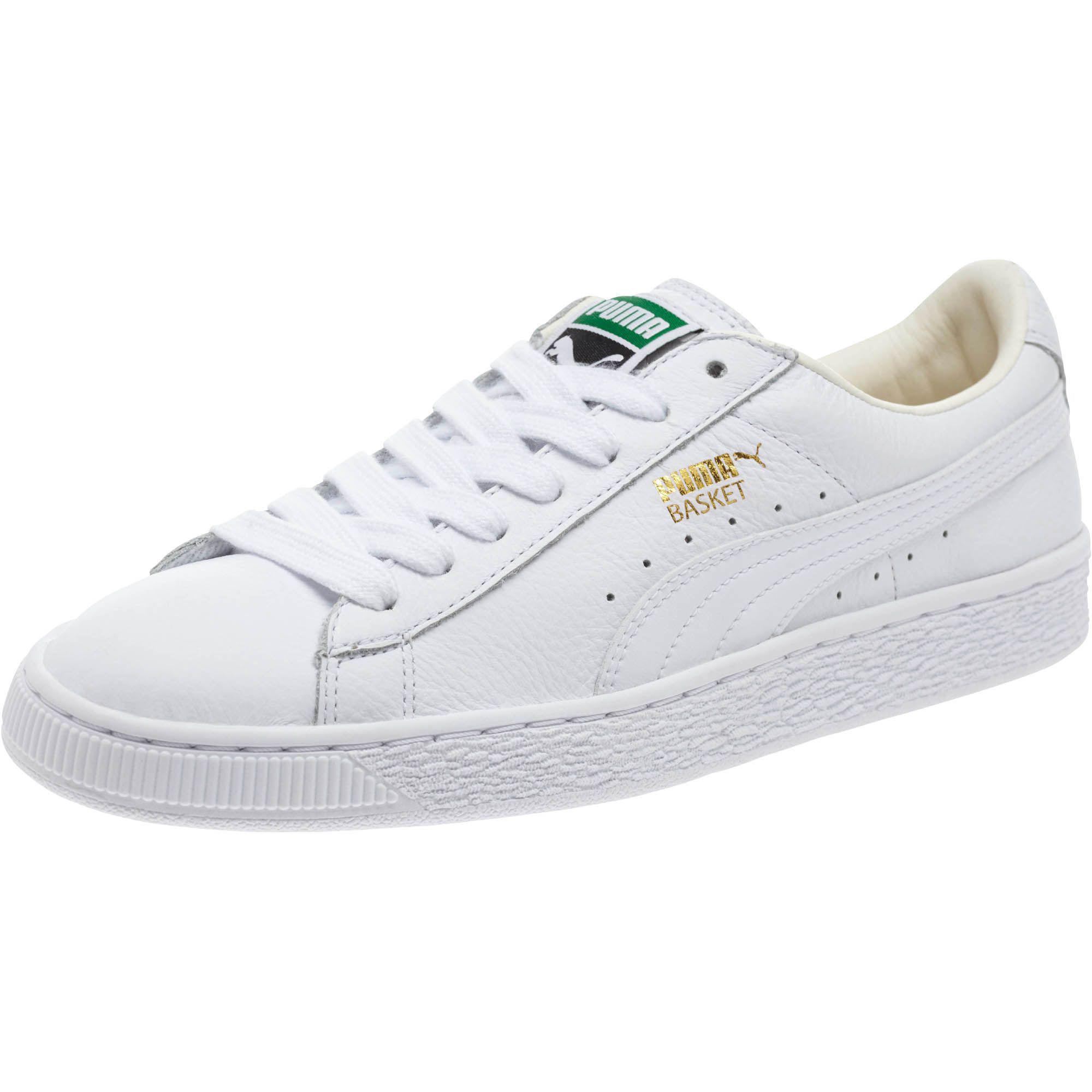 quality design 23c1e f5249 White Basket Classic Lifestyle Women's Sneakers
