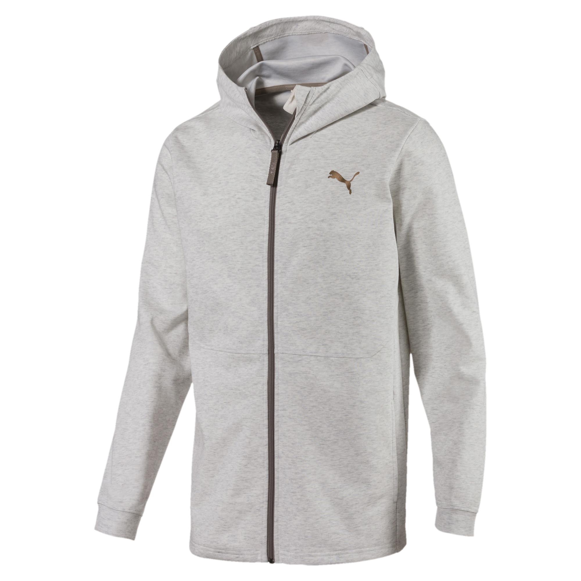 43c233d7a338 Lyst - PUMA Energy Desert Full-zip Men s Jacket in Gray