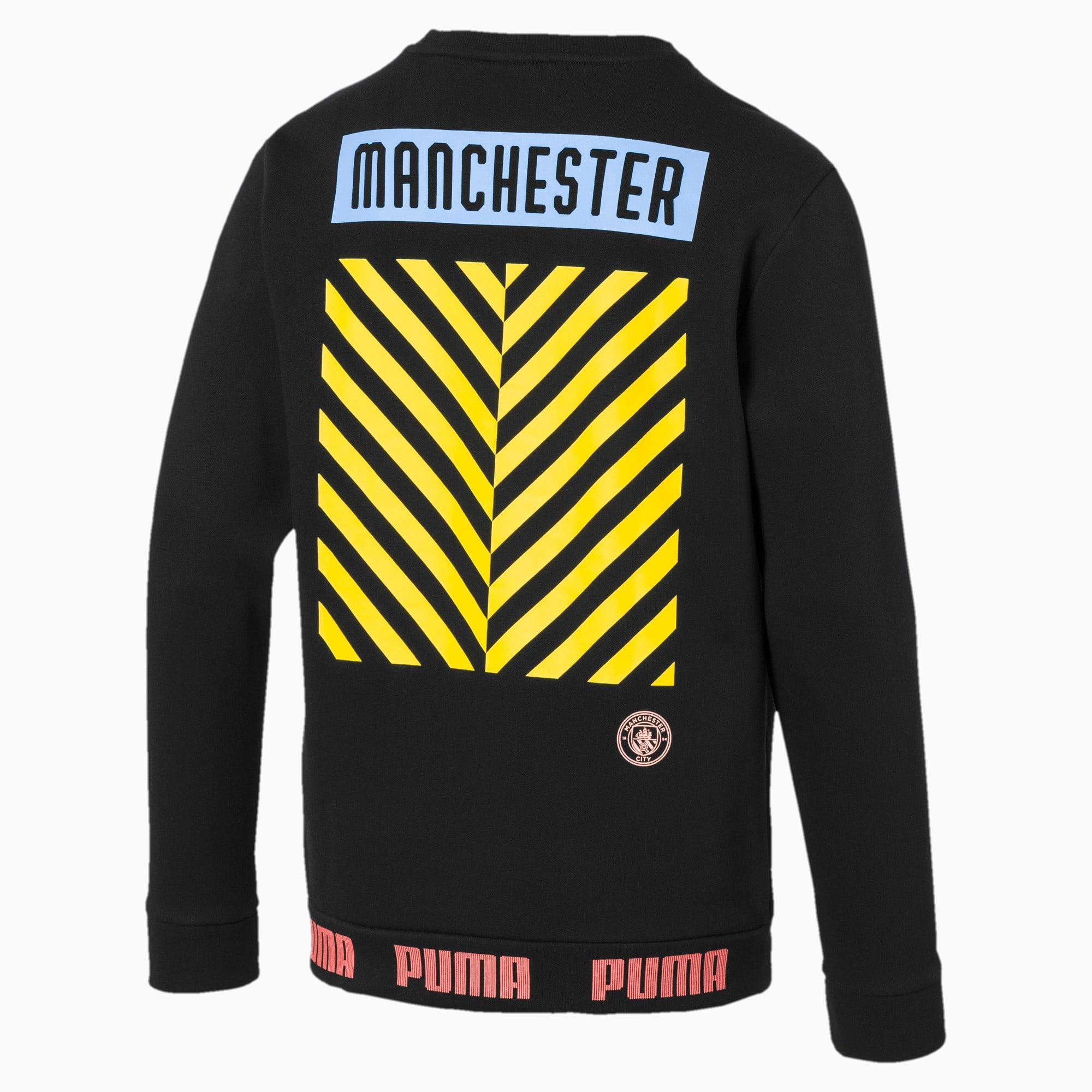 Manchester City Fc Ftblculture Men's Sweatshirt