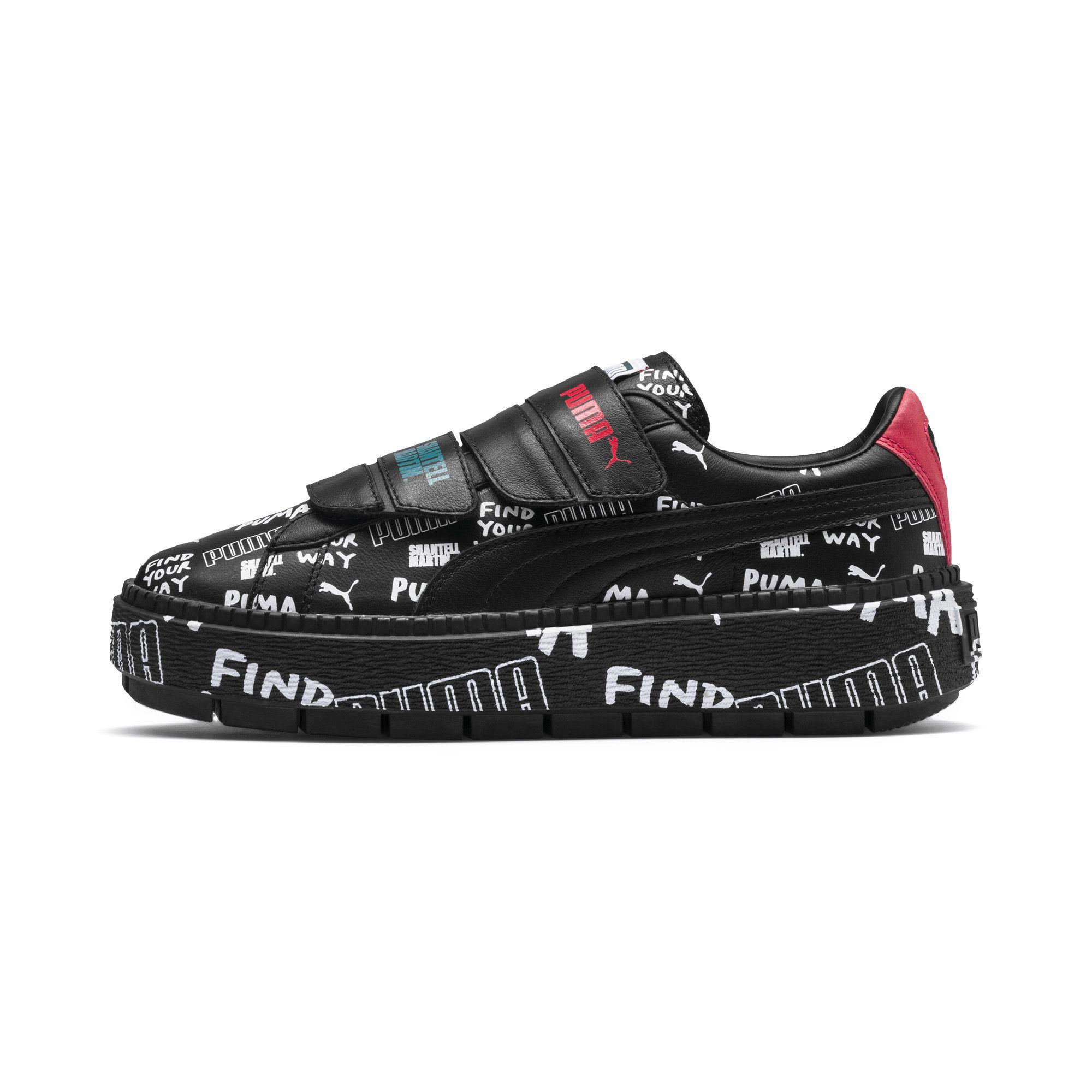 570537be5bf3 PUMA - Black X Shantell Martin Platform Trace Strap Women s Sneakers - Lyst